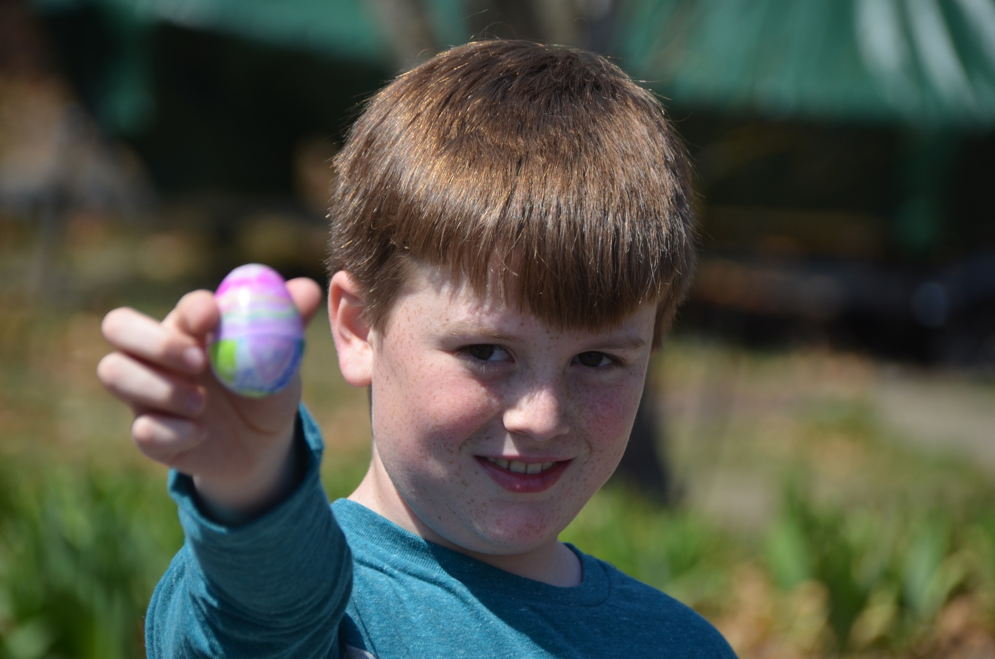 "I  found the  ""  GOLDEN EGG""      Cape Ginns  Egg  Hunt   ~  Happy Easter  ~  April 16,  2016 by domenic.silvi"