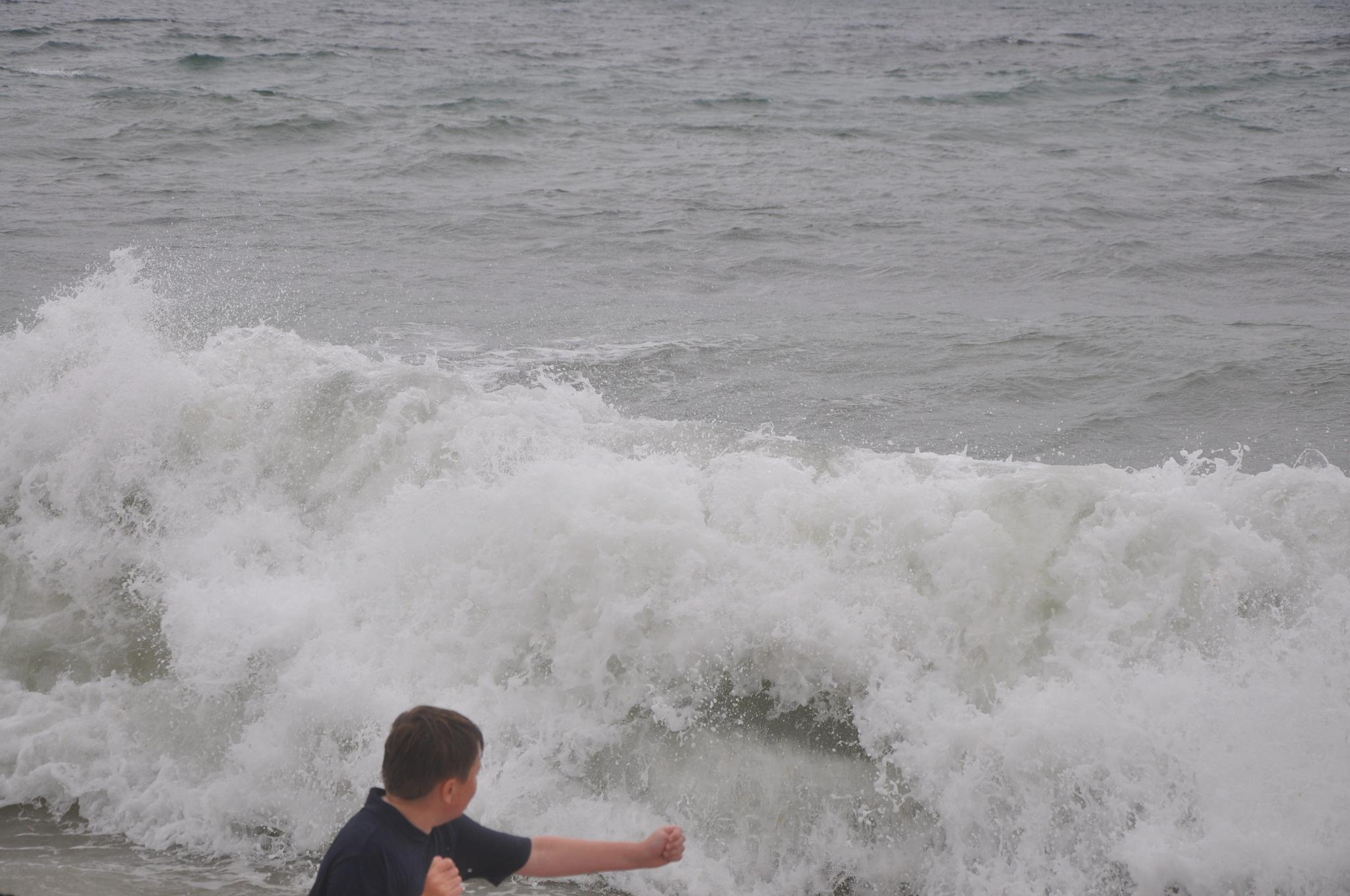 Rough  Surf  ~  Lecount  Hollow  Beach   ~ Welfleet  ~  August 8,  2017 by domenic.silvi