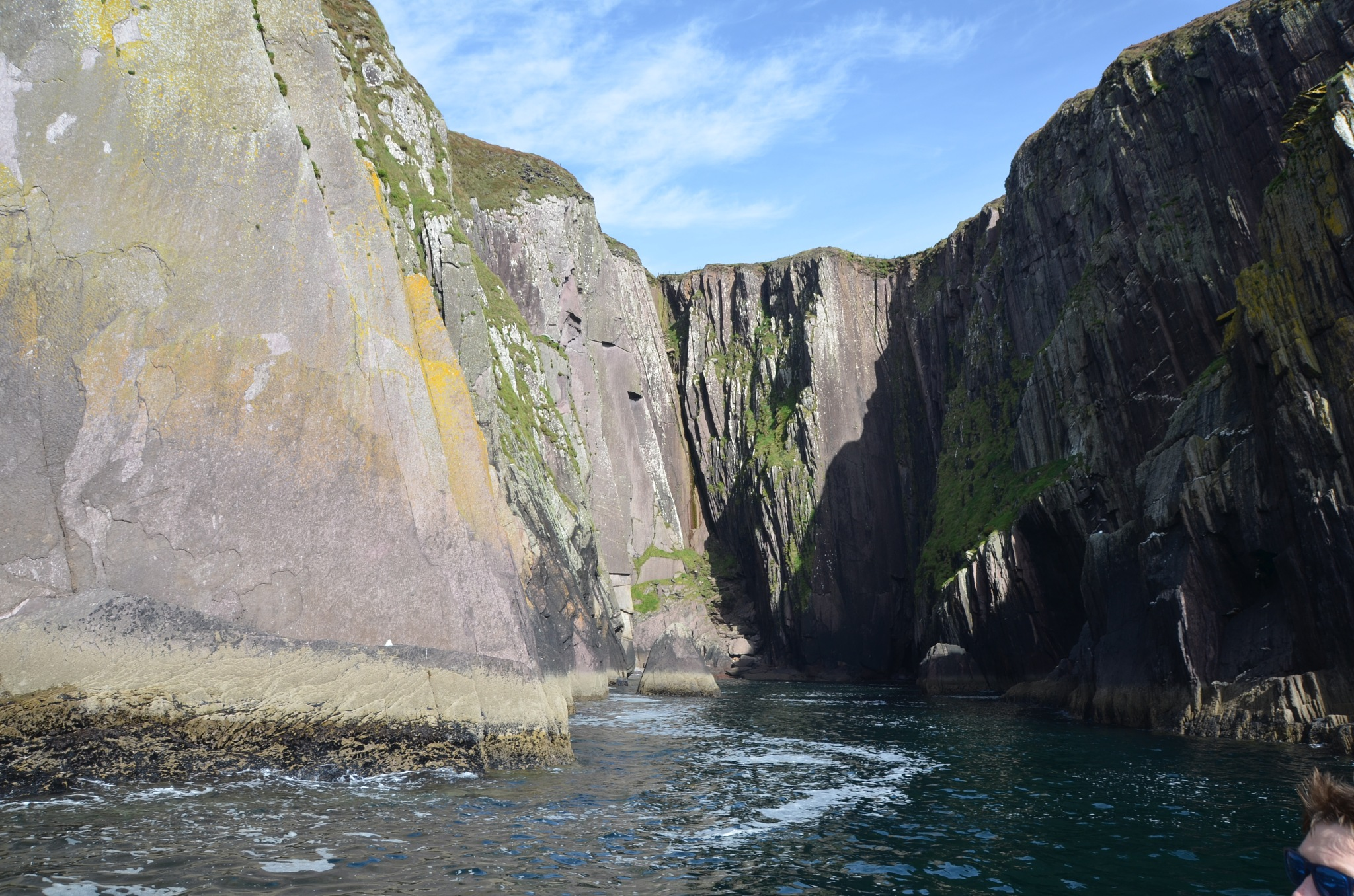 The  Cliffs  out side  Dingle  Harbor   on   Dingle Bay  ~ Dingle Peninsular  , Ireland   September  by domenic.silvi