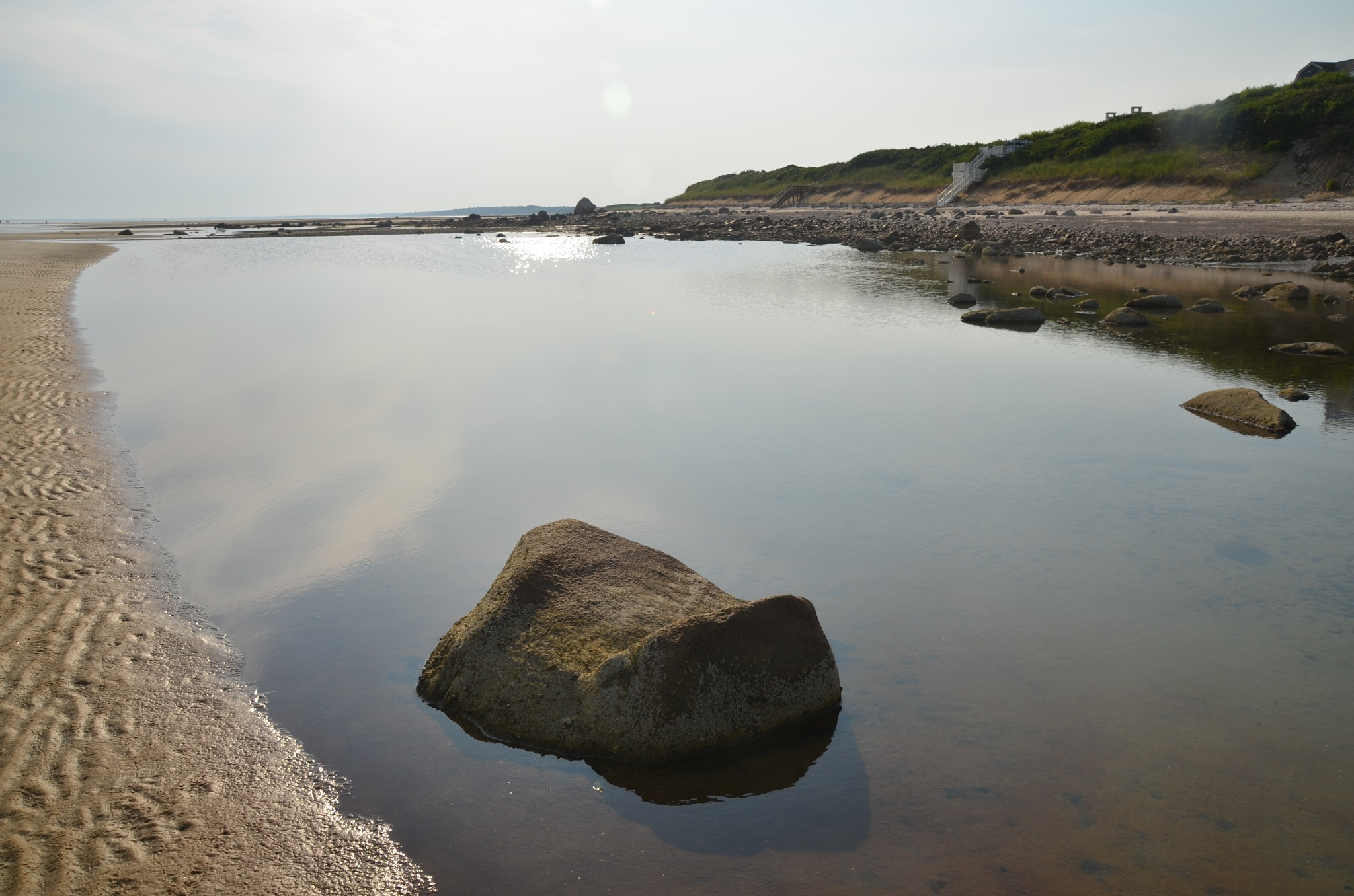 Tidal Pool ~ The Brewster Flats  ~  East Dennis   ~ July 21, 2017 by domenic.silvi