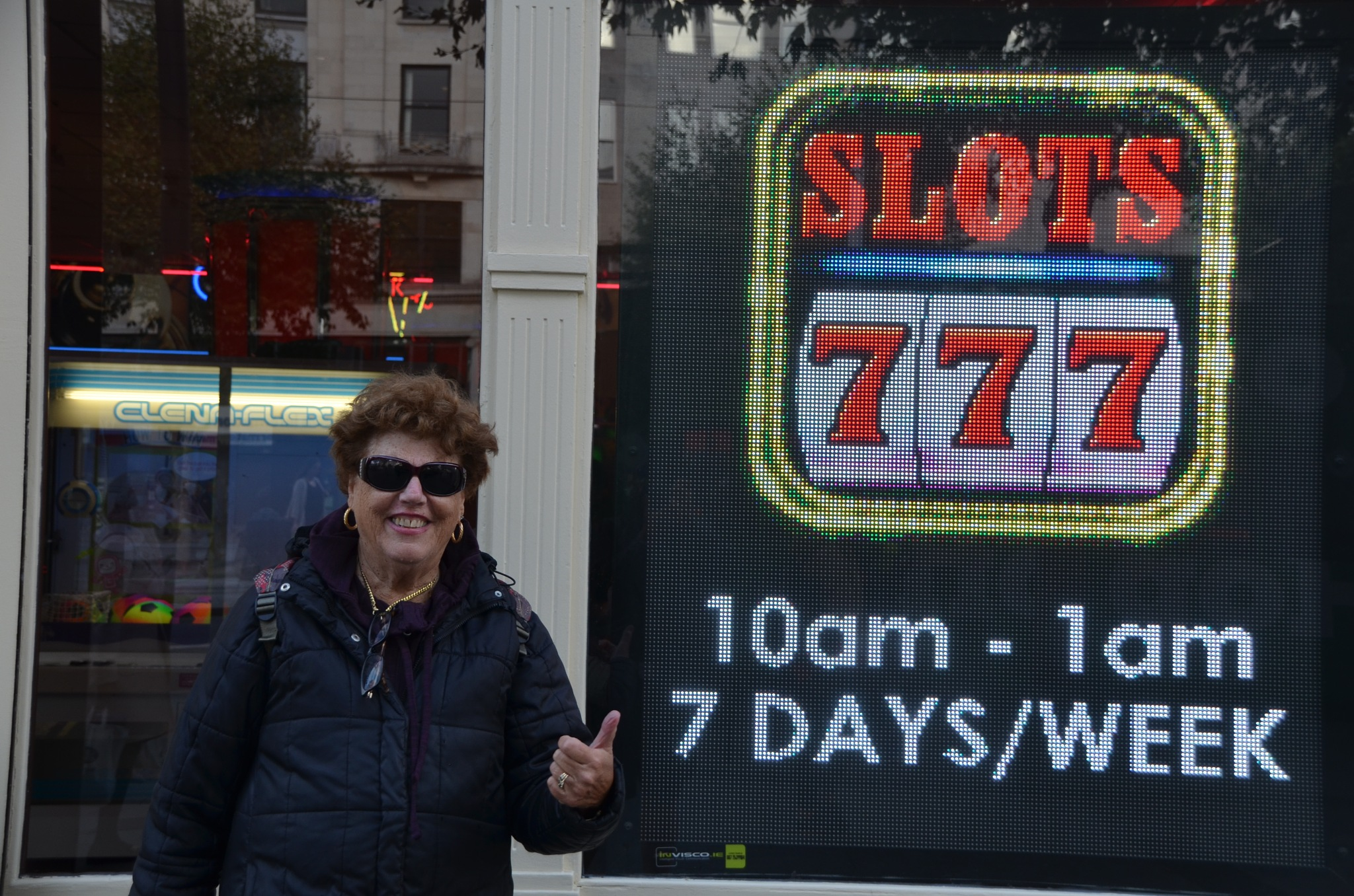 The SLOTS  ~  LOWER  O'CONNELL ST. ~ DUBLIN, IRELAND  ~   Sept. 15,  2017 by domenic.silvi