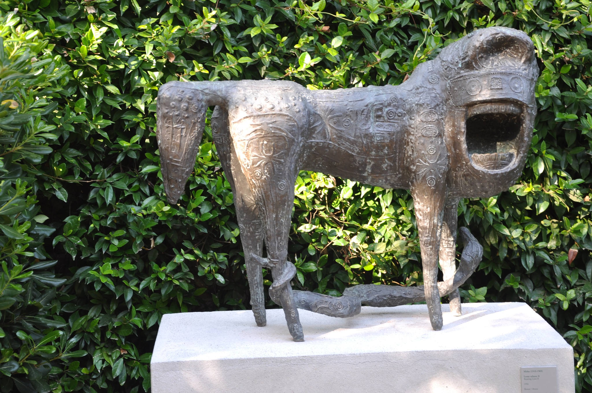 In the  garden  ~ Sculpture by  Mirko[1910 -1969] ~  Peggy guggenheim  Museum ~ Venice, Italy~ Septe by domenic.silvi