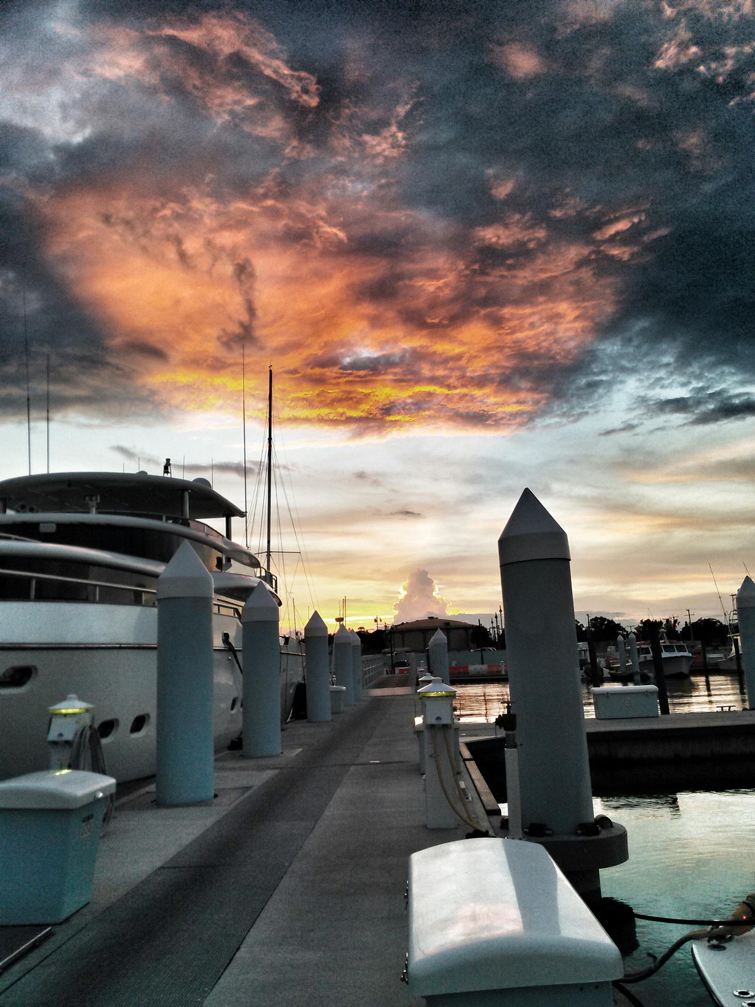 Beautiful evening sky by Susan Renfrow