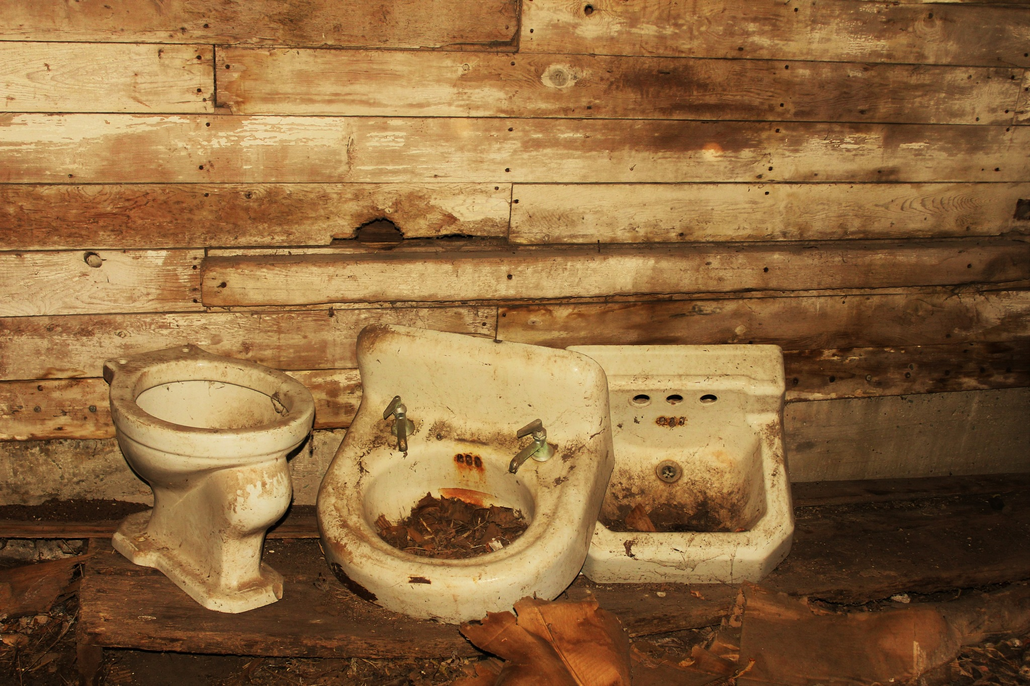 Used plumbing in vacant barn by autumn.acres.1