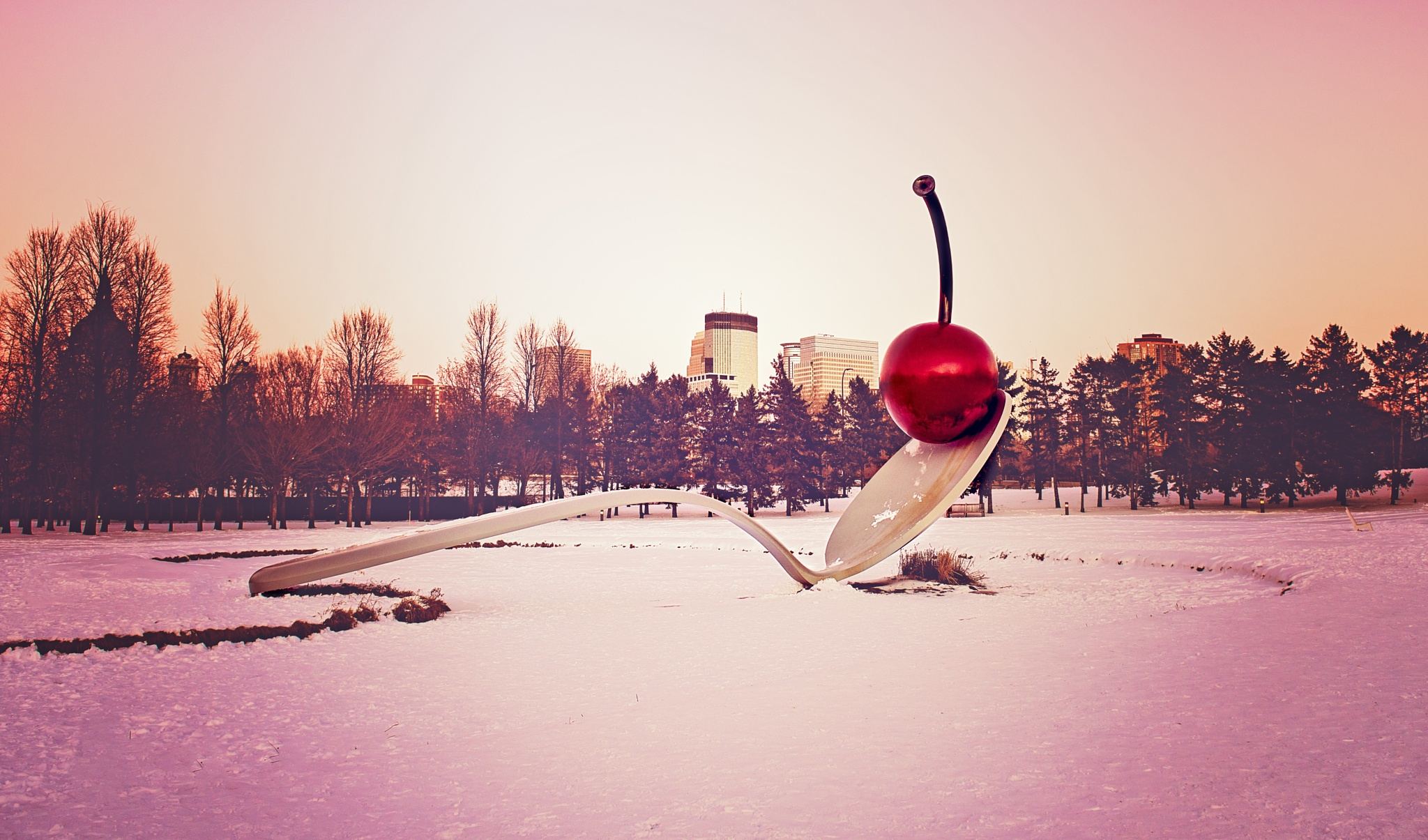 Cherry spoon Minneapolis by wandakayebacon