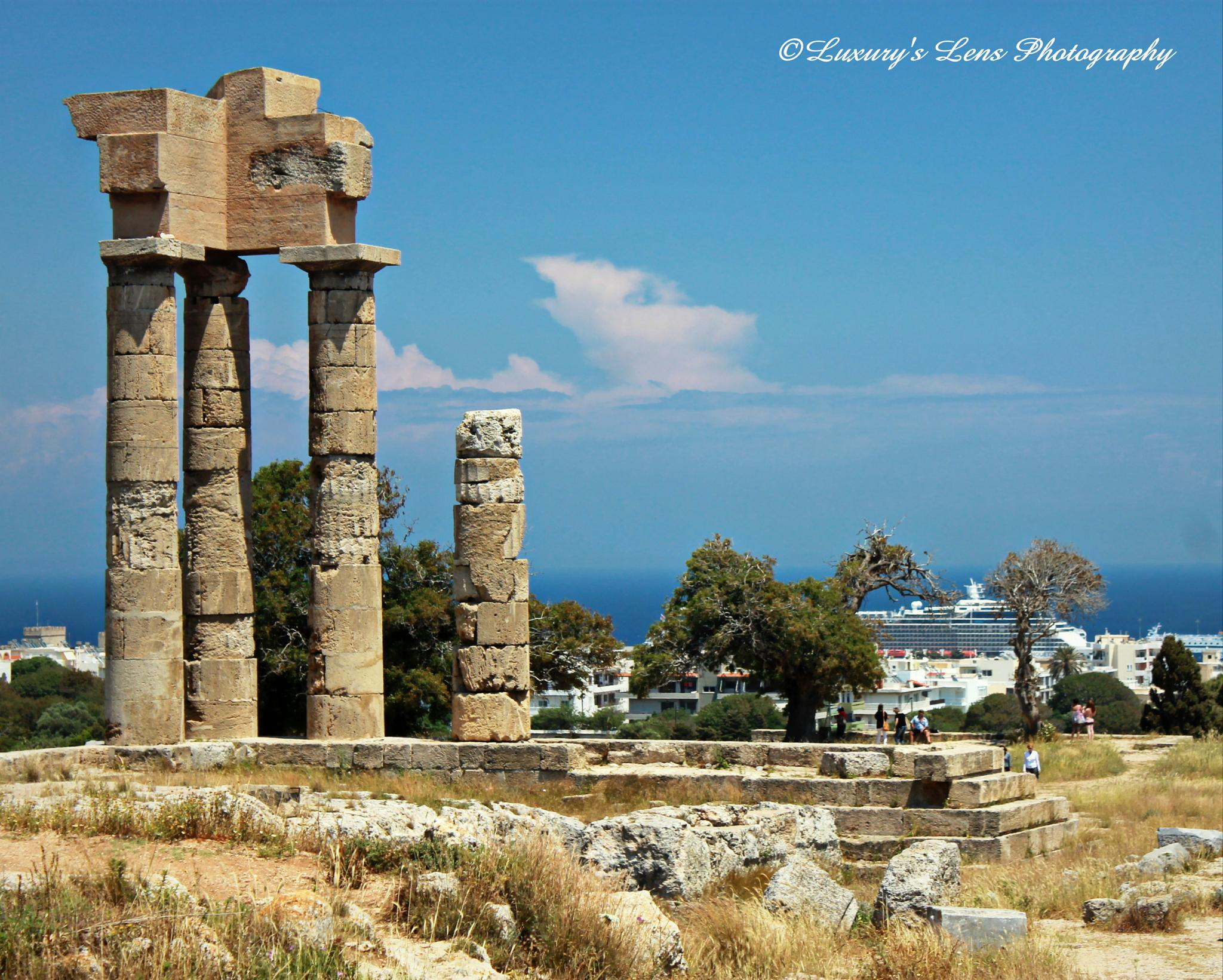 Sanctuary of Athena by ChristopherMorrison