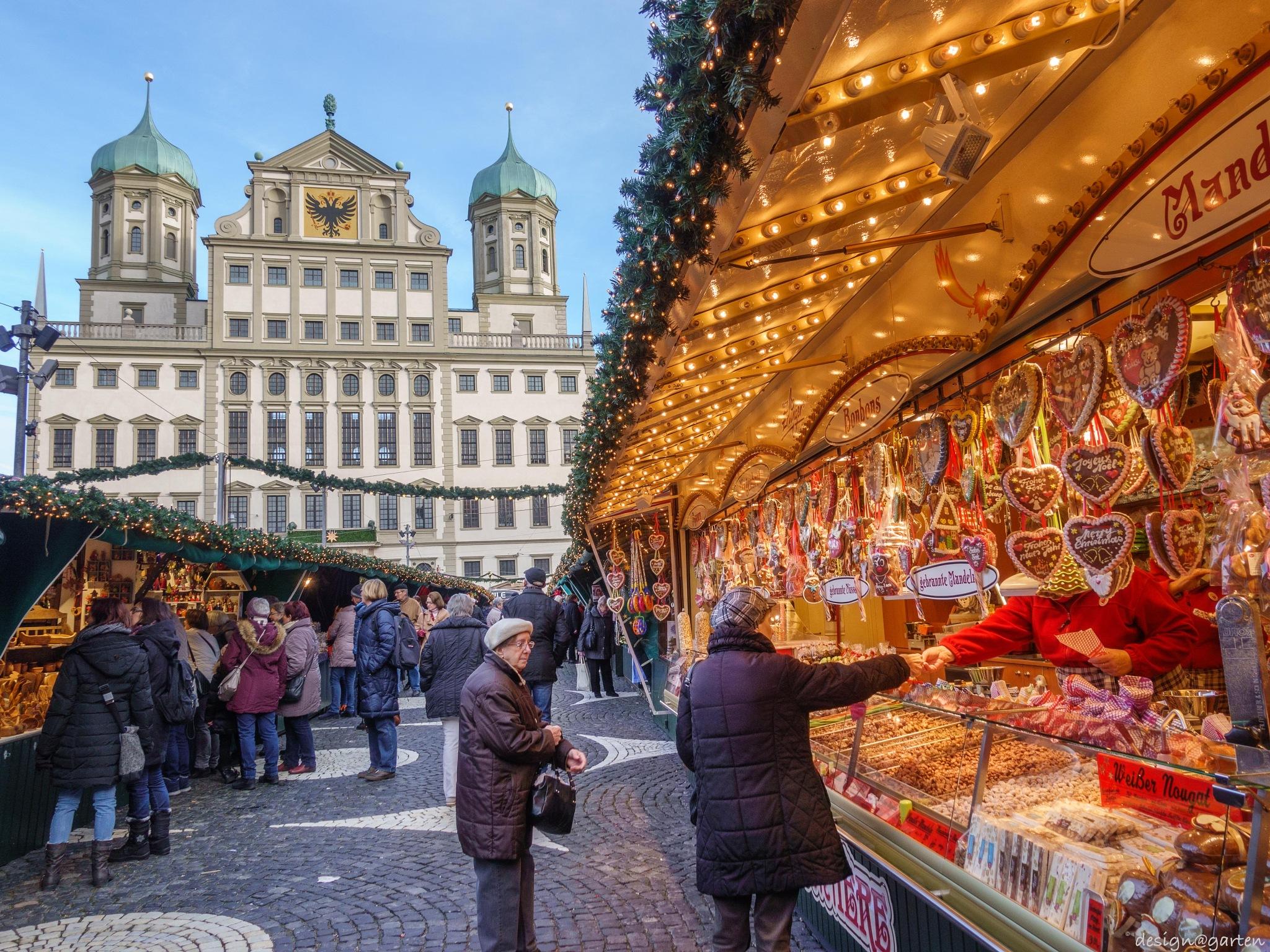 Weihnachtsmarkt - Augsburg by designatgarten