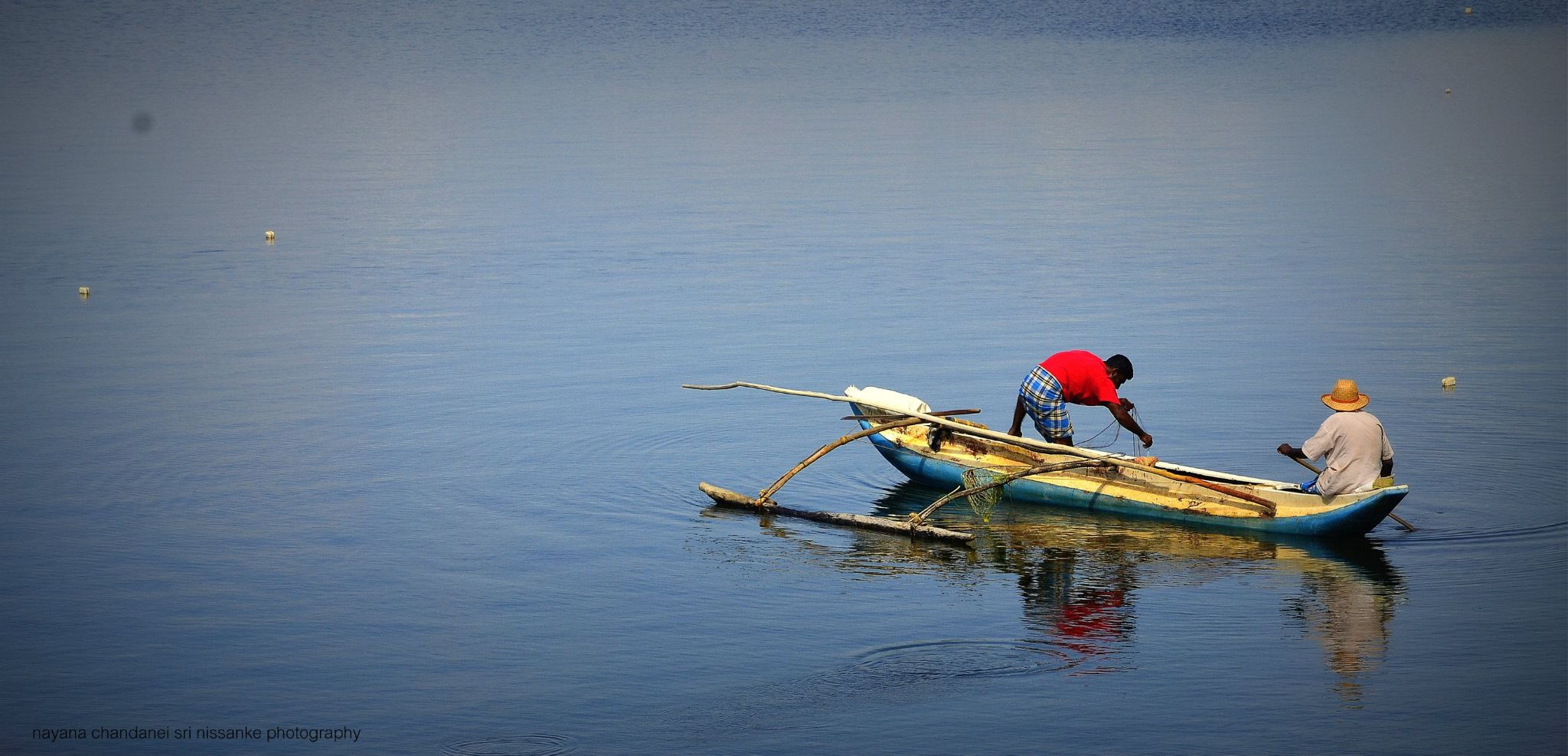fishing by nayanachandaneisrinissanke