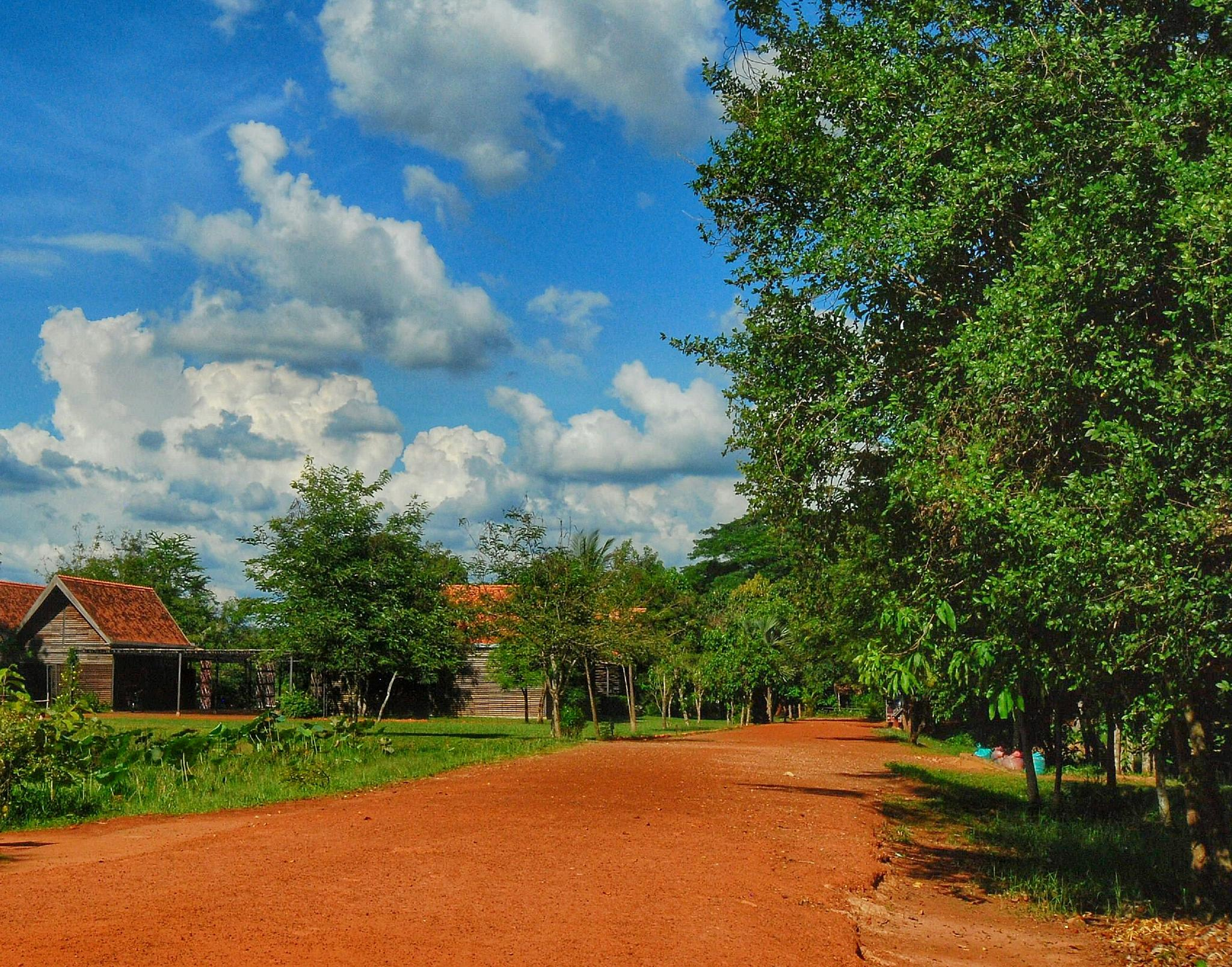 Red sandstone road by Ming_Bear