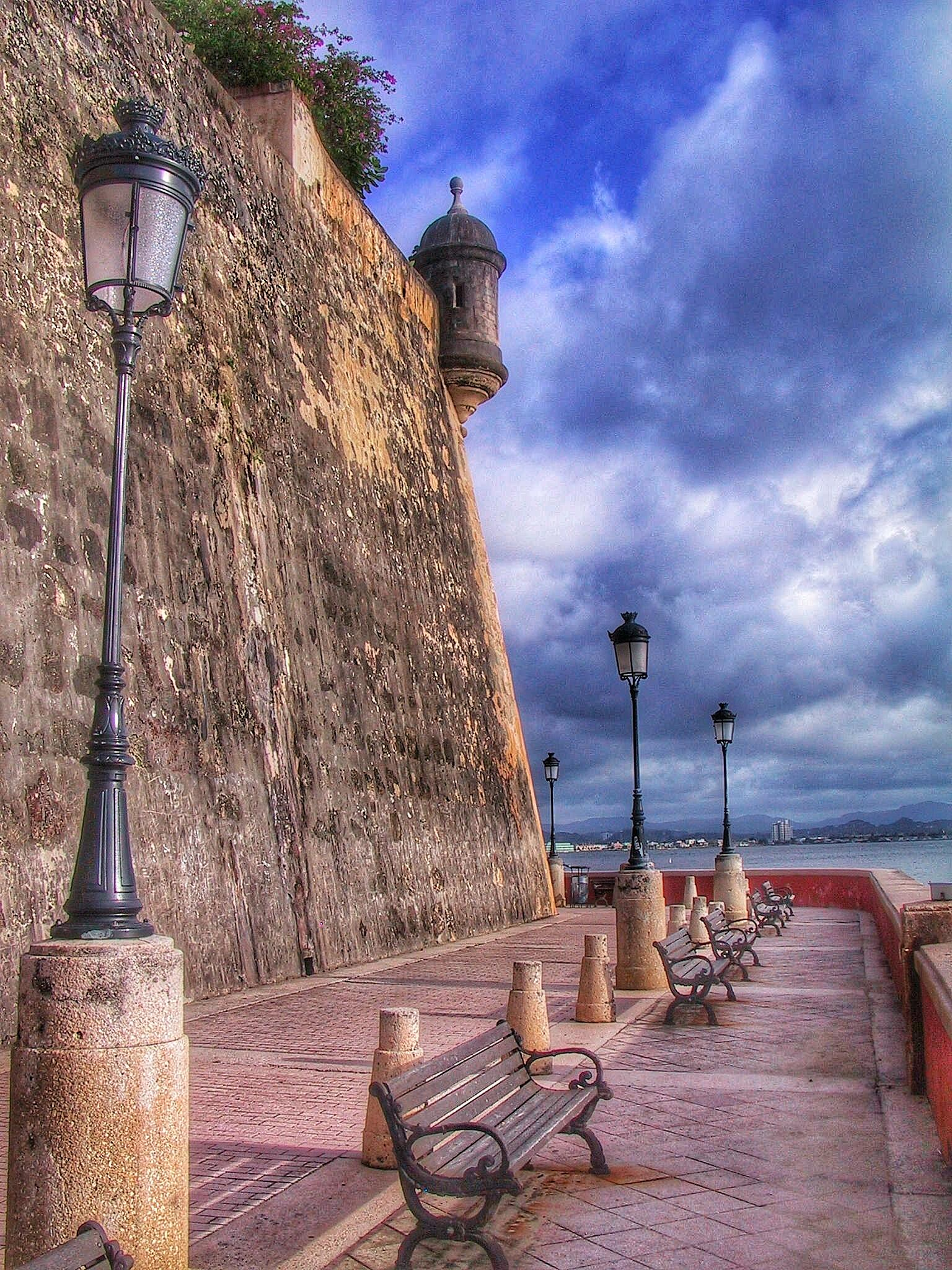 Old San Juan Fort by Ming_Bear