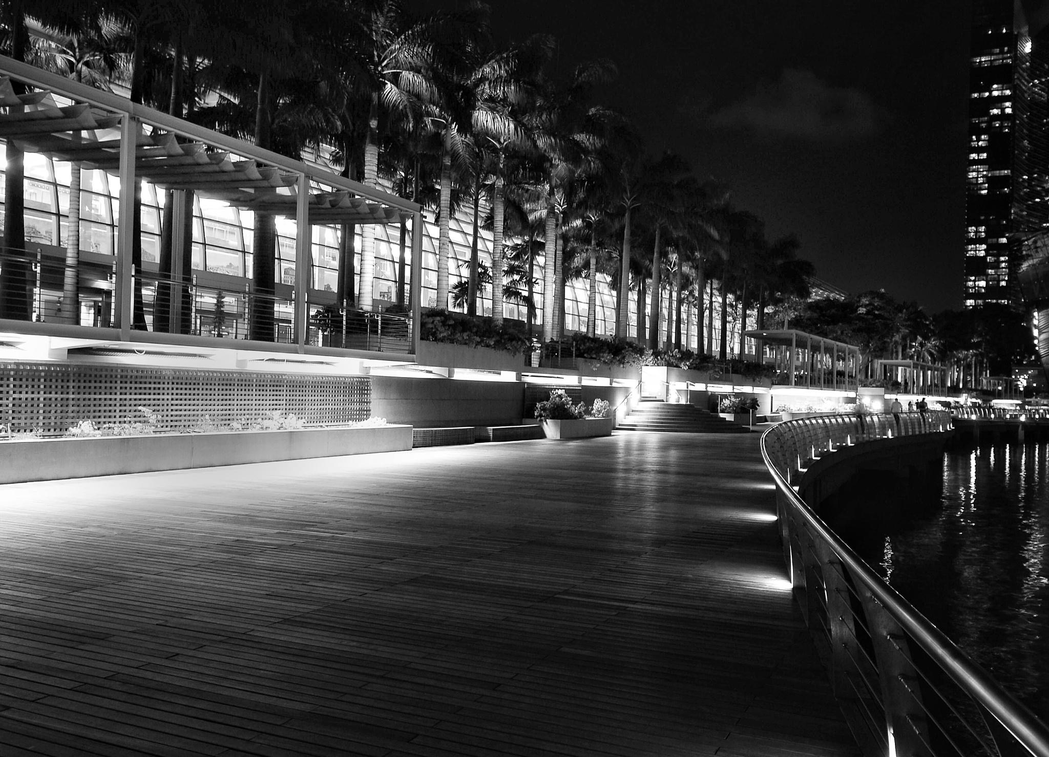 Boardwalk at Marina Bay by Ming_Bear