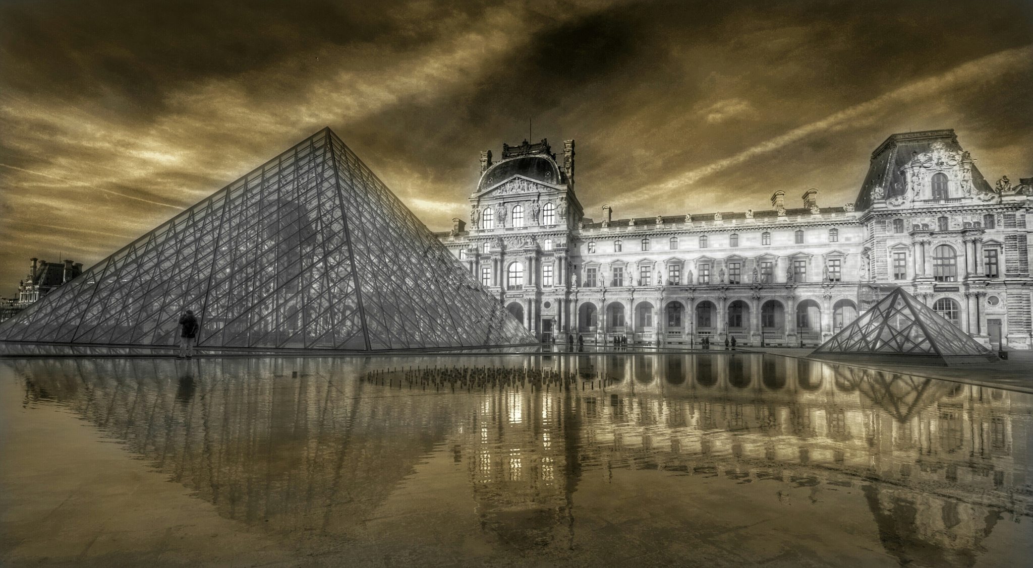 Musee du Louvre - A tribute to our friends from France by Ming_Bear