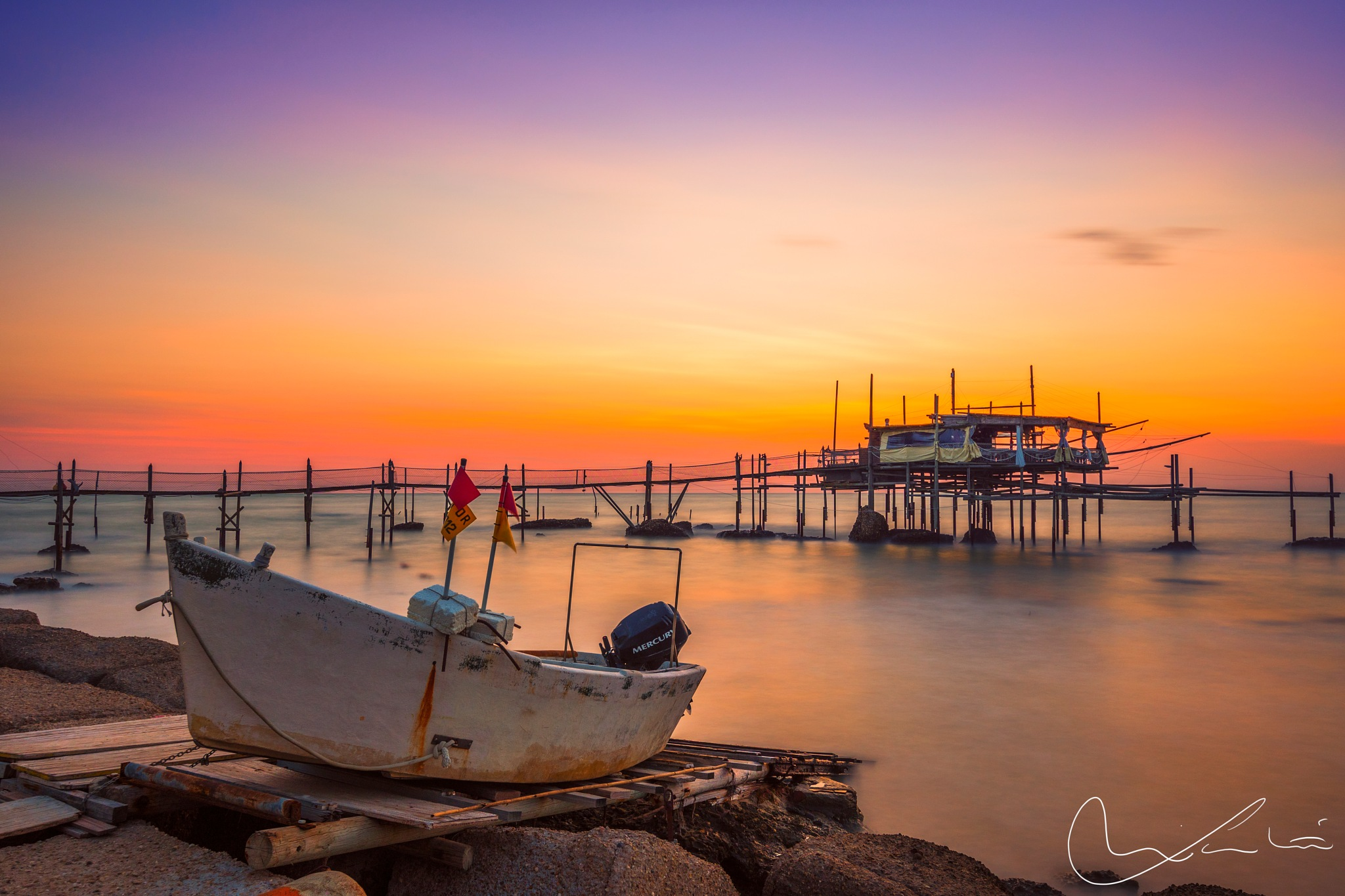 Trabocco Cungarelle by luca.nicoletti