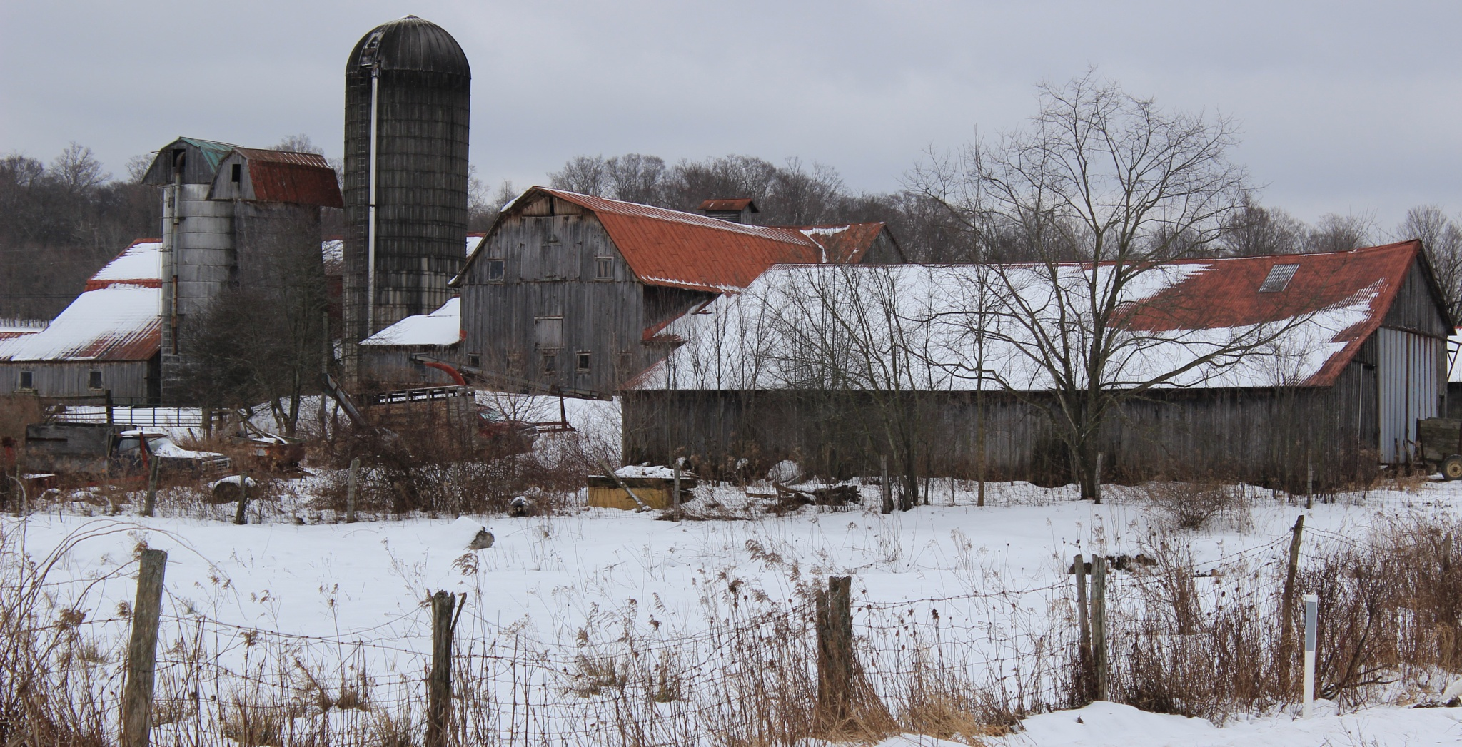 Old Farm by Auggie23