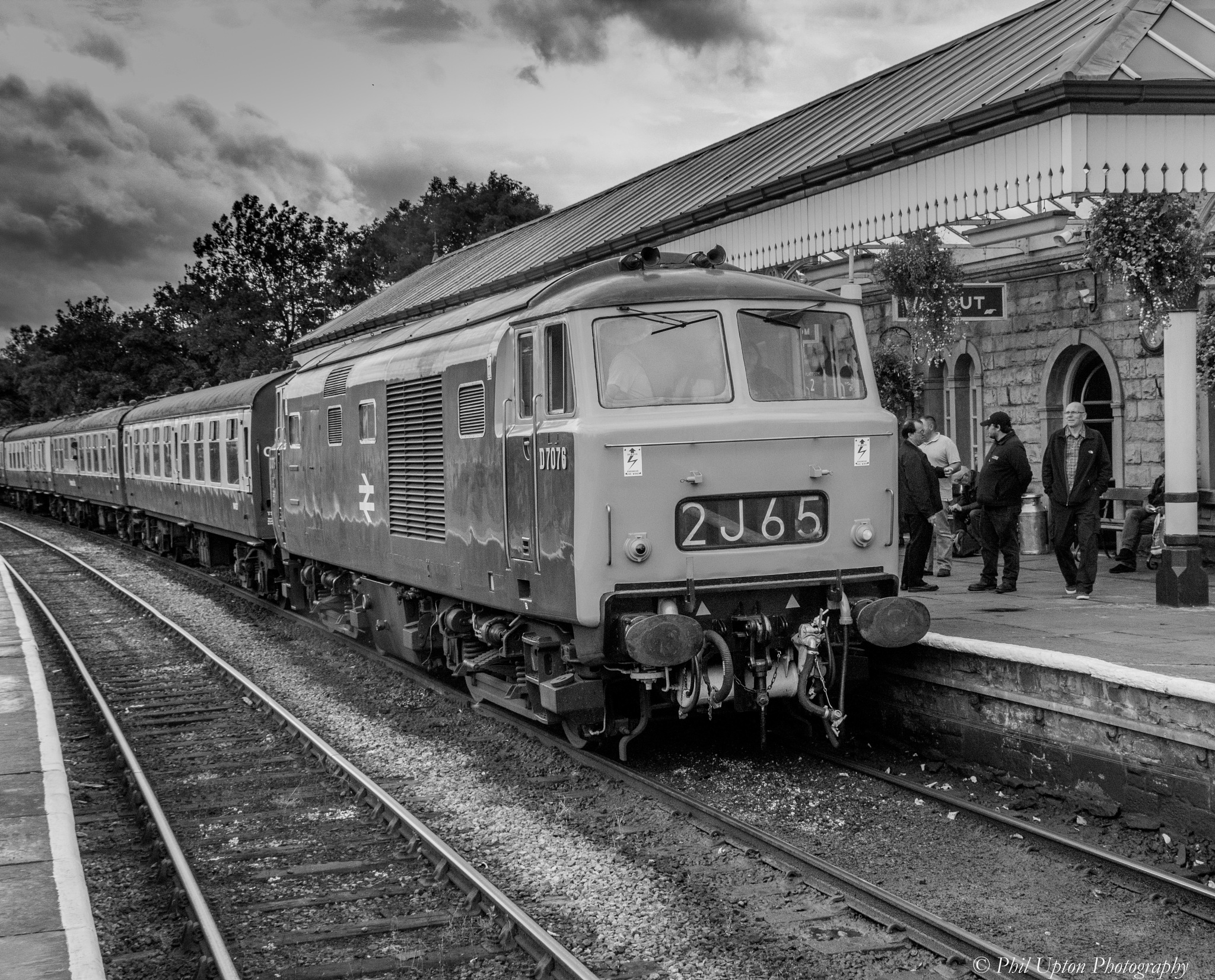 Vintage Train Travel  by Phil Upton