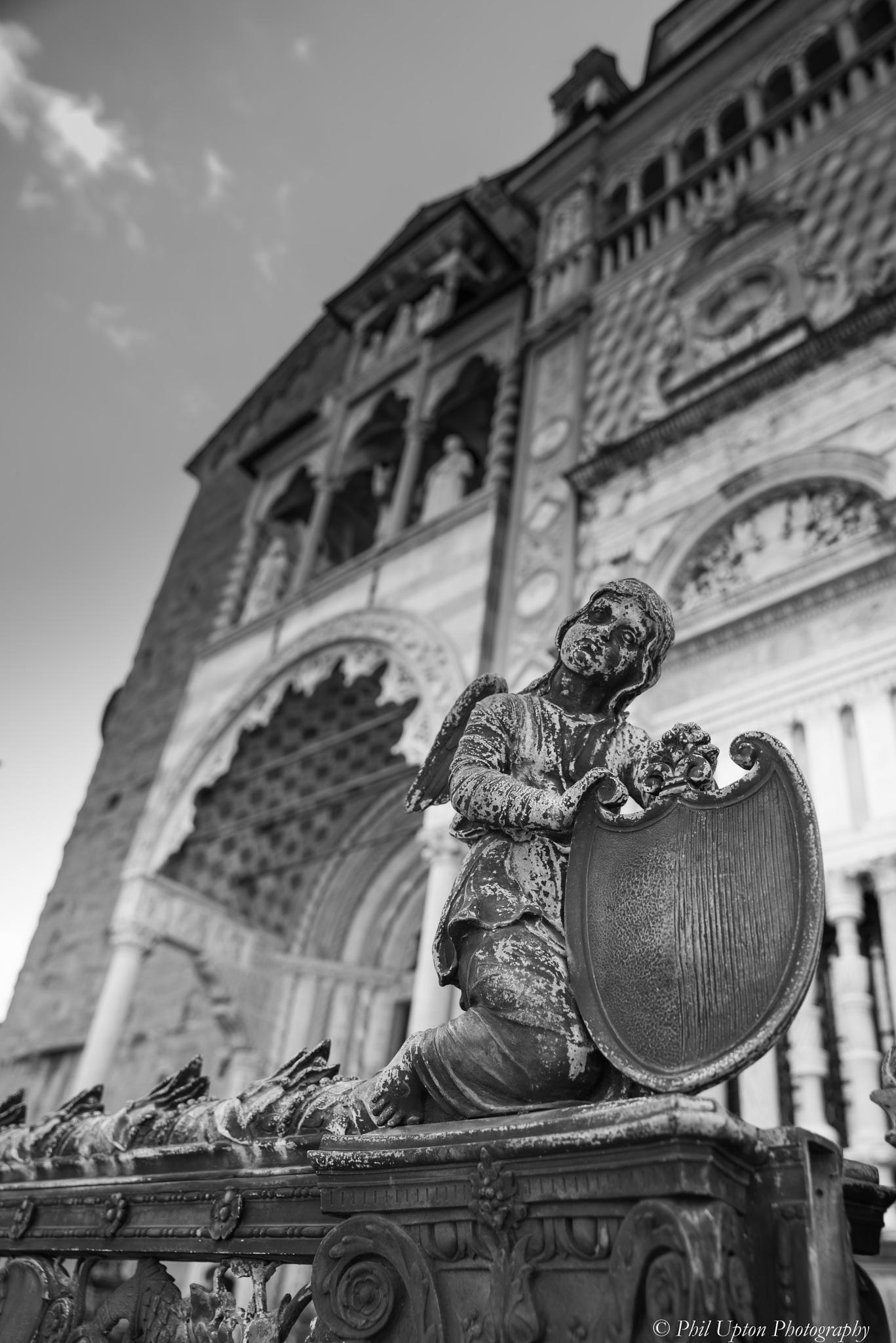 Angel of Bergamo by Phil Upton