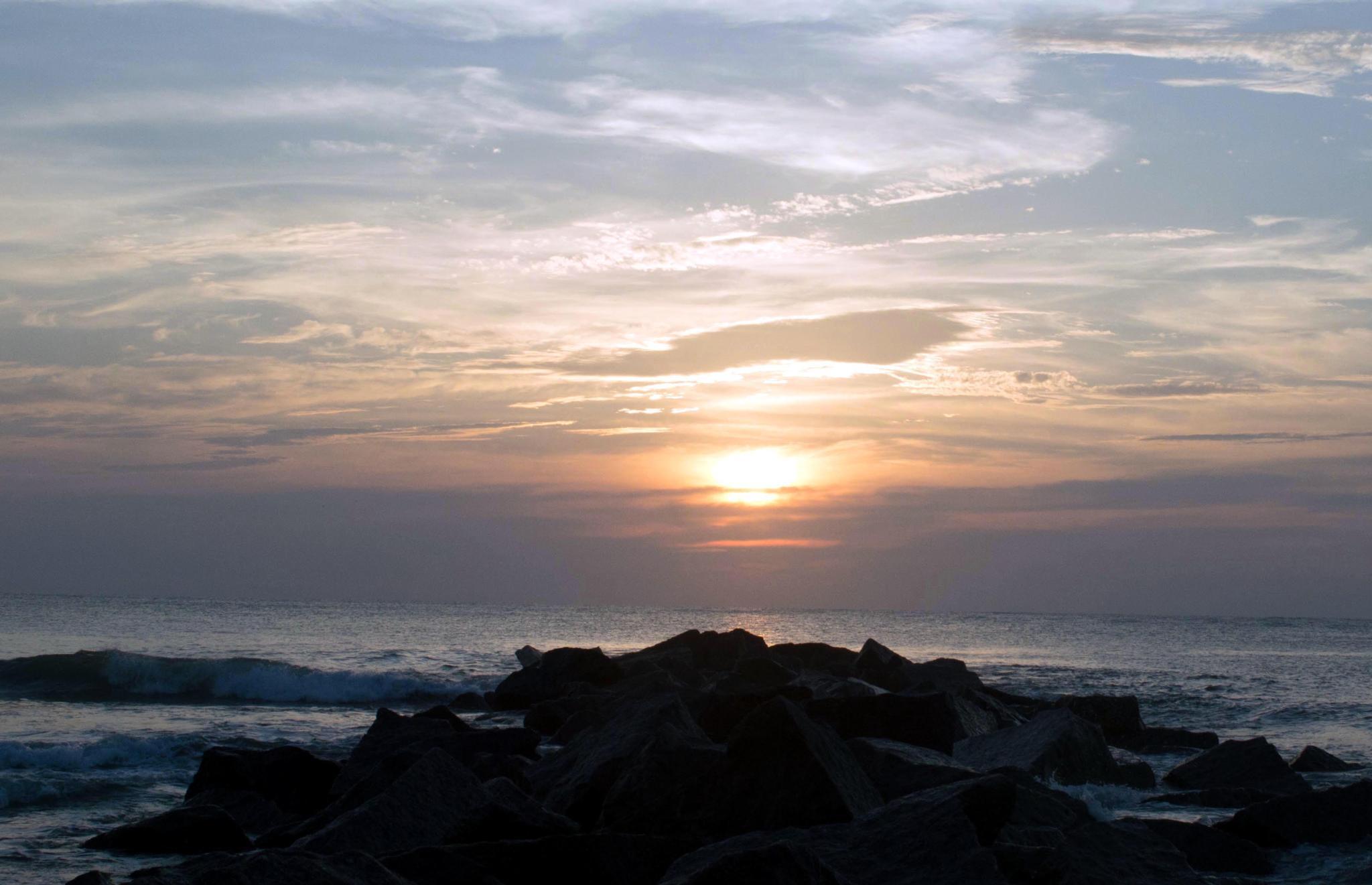 Photo in Sea and Sand #sun #waves #beach