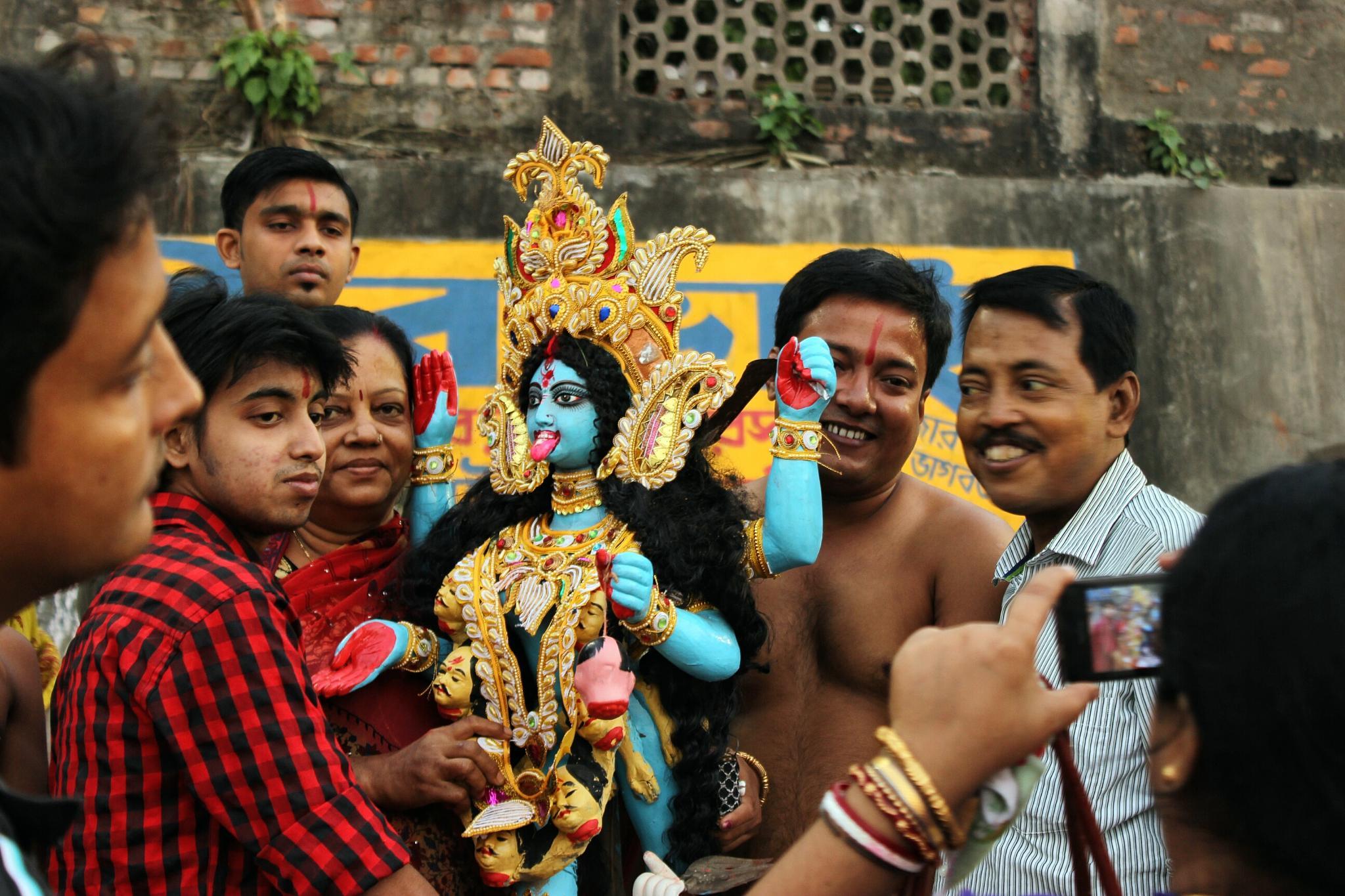 Kali puja by sayed wasi haider