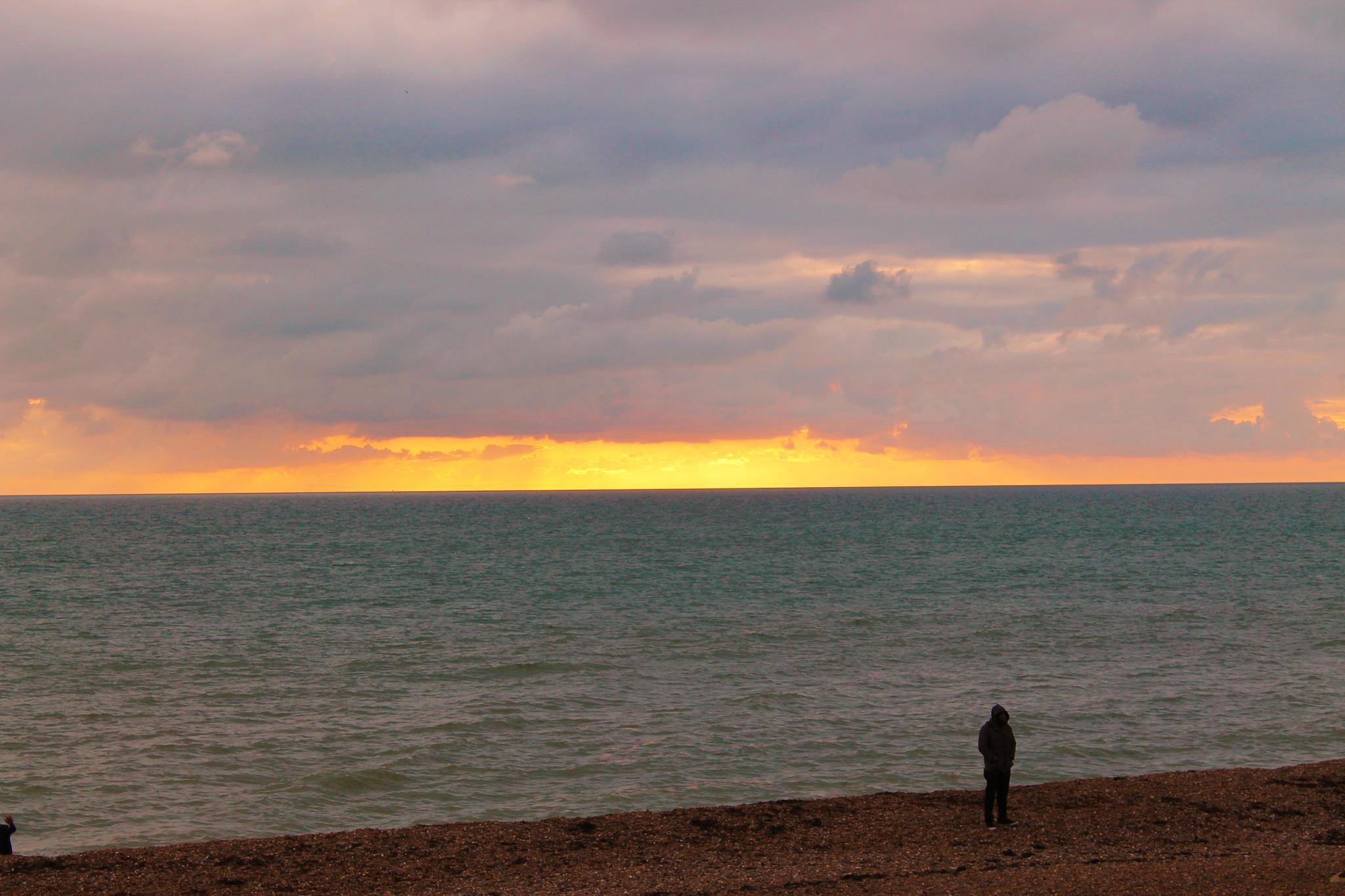 Brighton evening by tigra1988