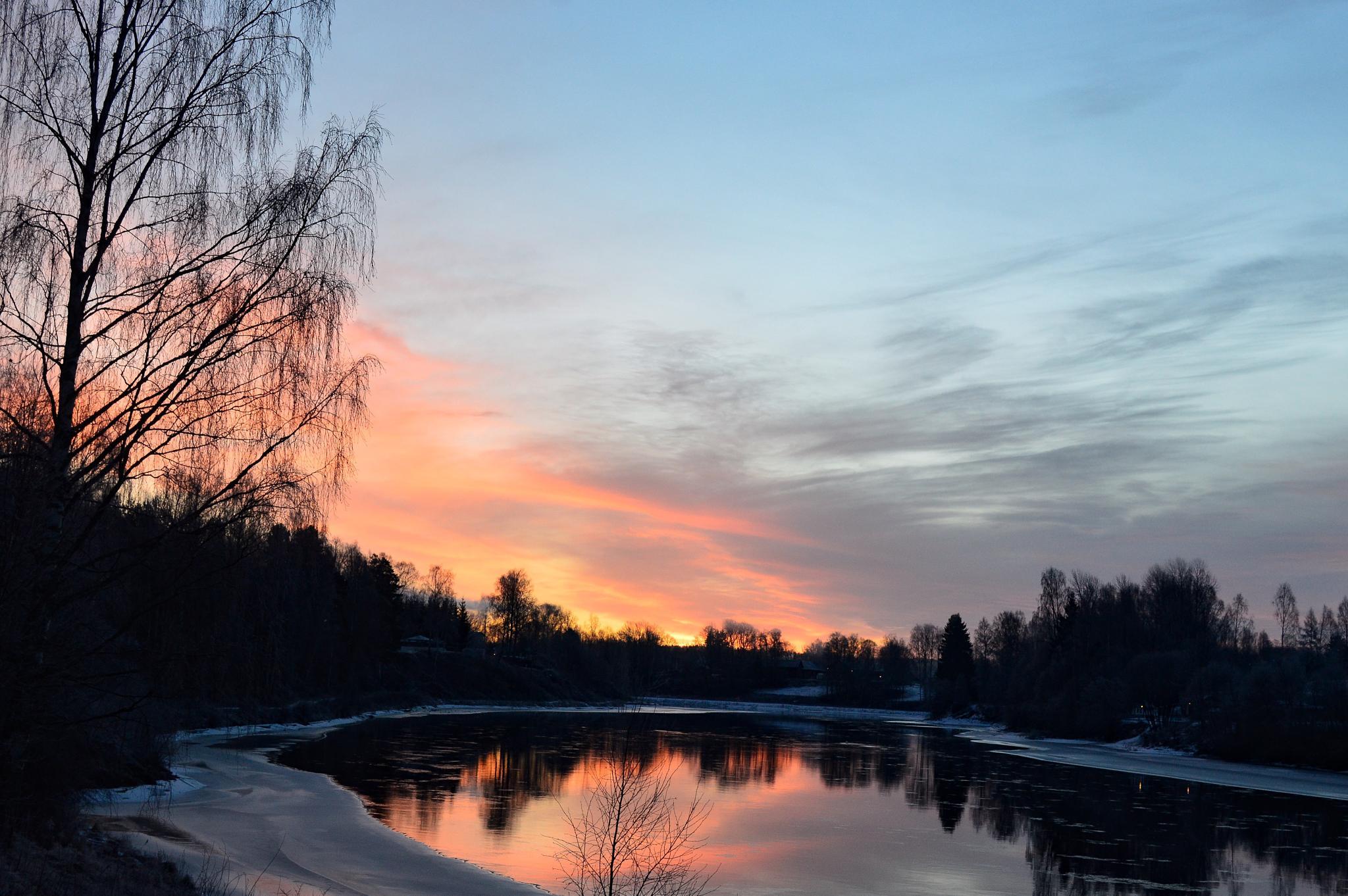 Pink River by michaeldahlen