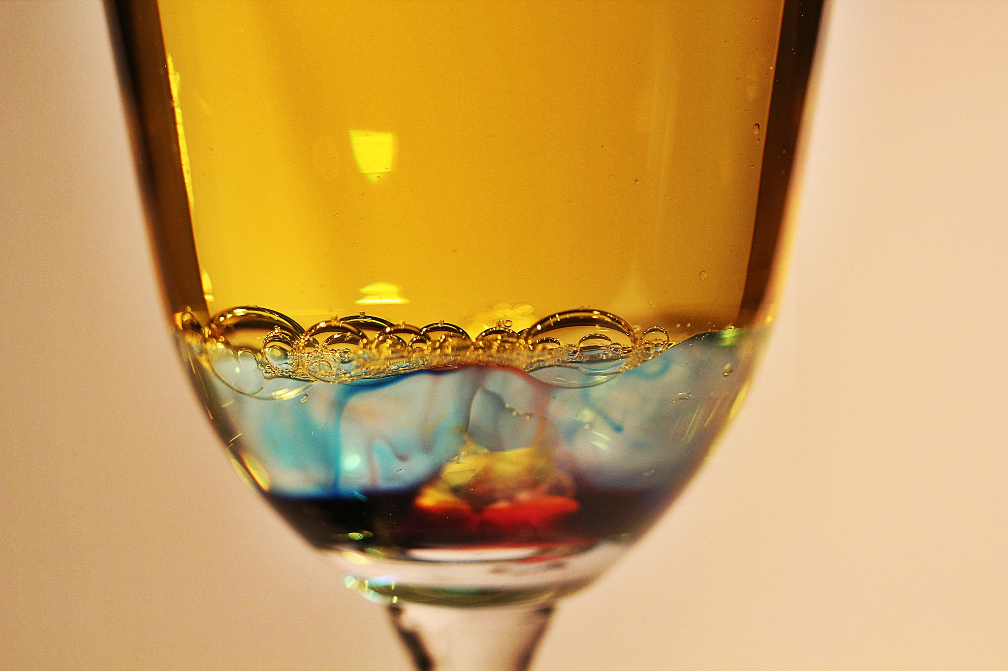 Science Experiment in a Wine Glass by danlandry69