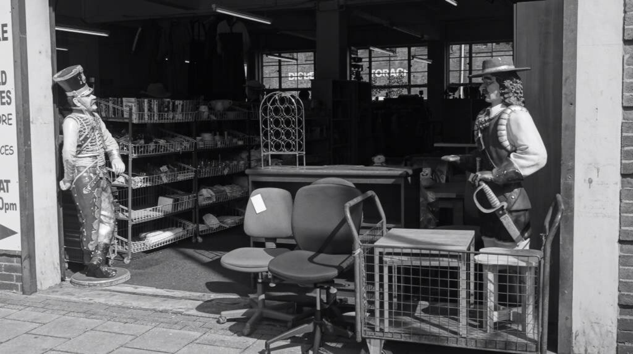 Guarding the shop by erol.antz