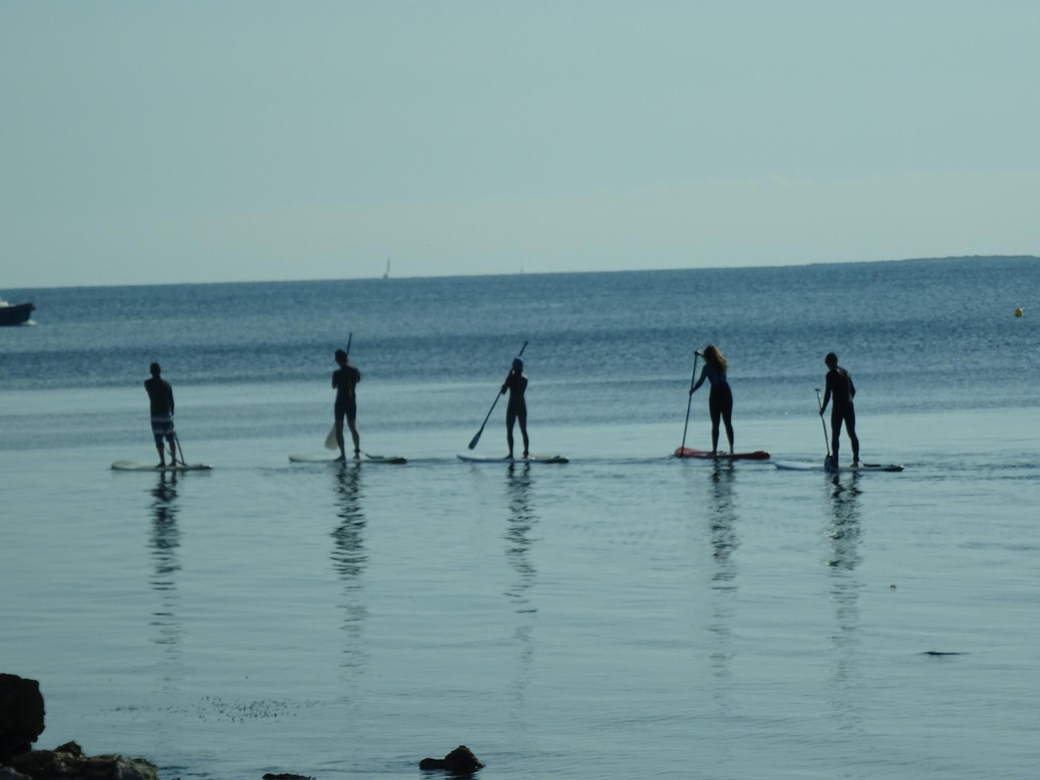 Paddle Boarding by erol.antz