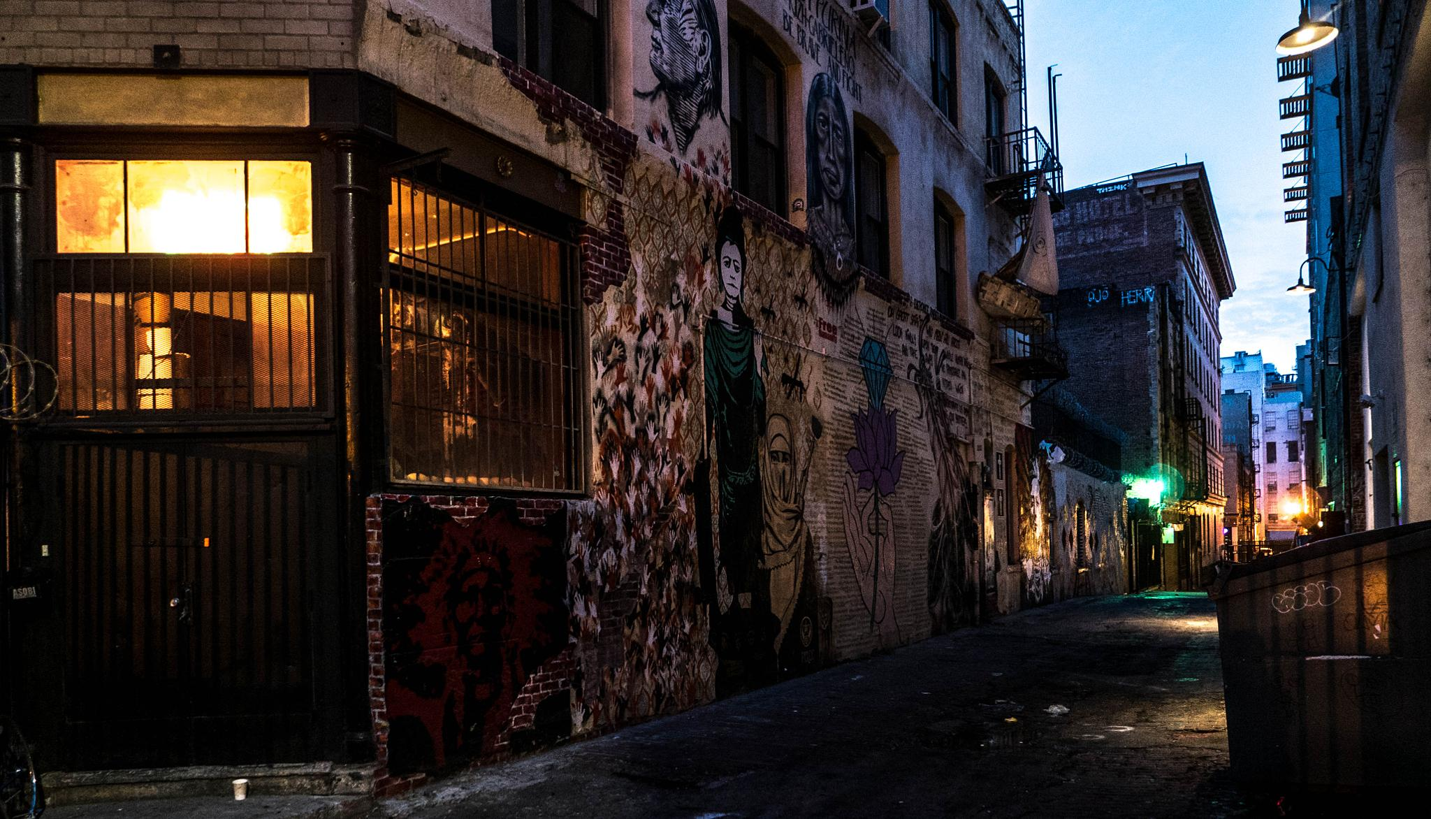 Indian Alley by BarbaraHuber