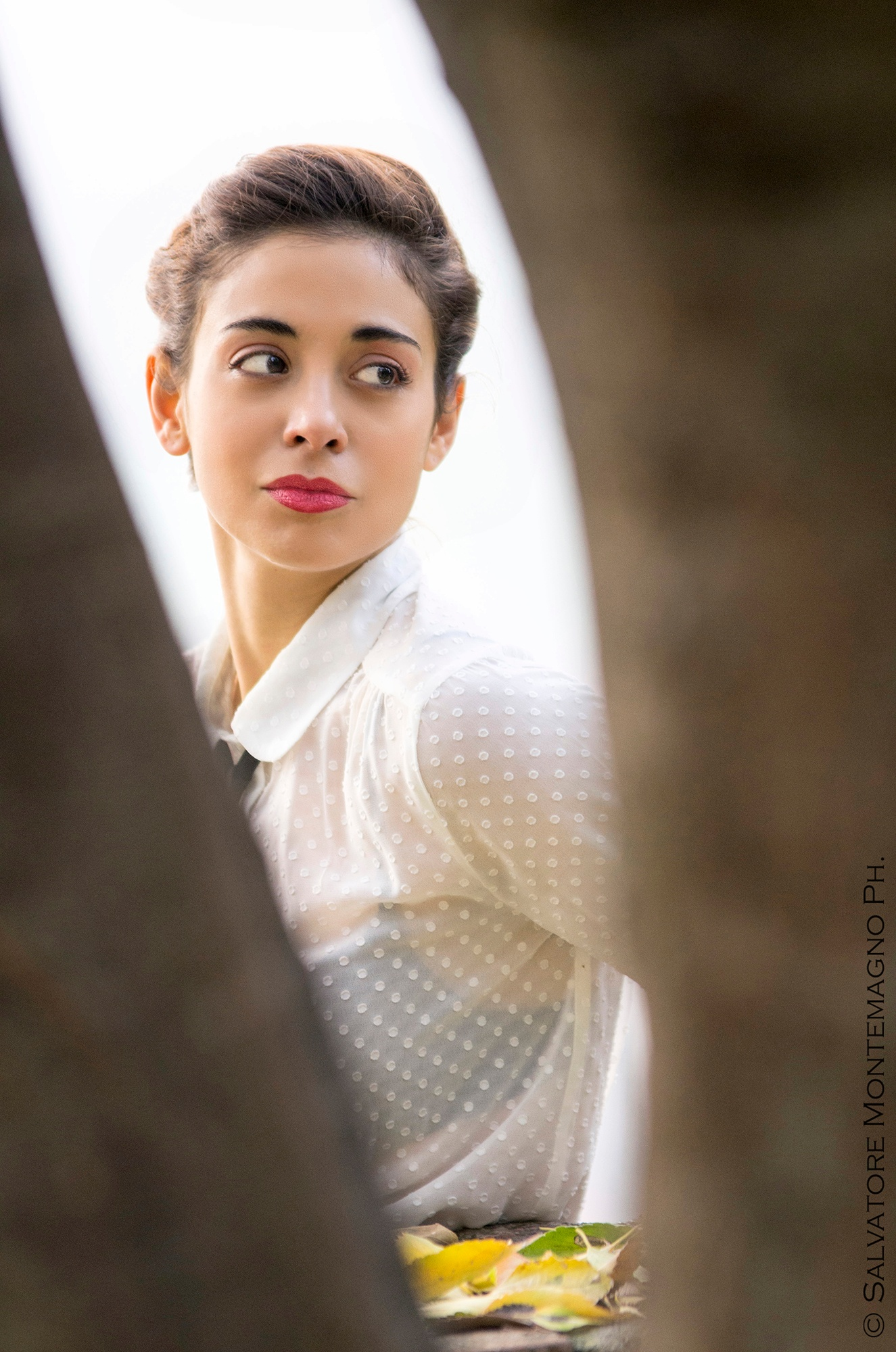 Photo in Portrait #donna #woman #camicia #pentax #k5