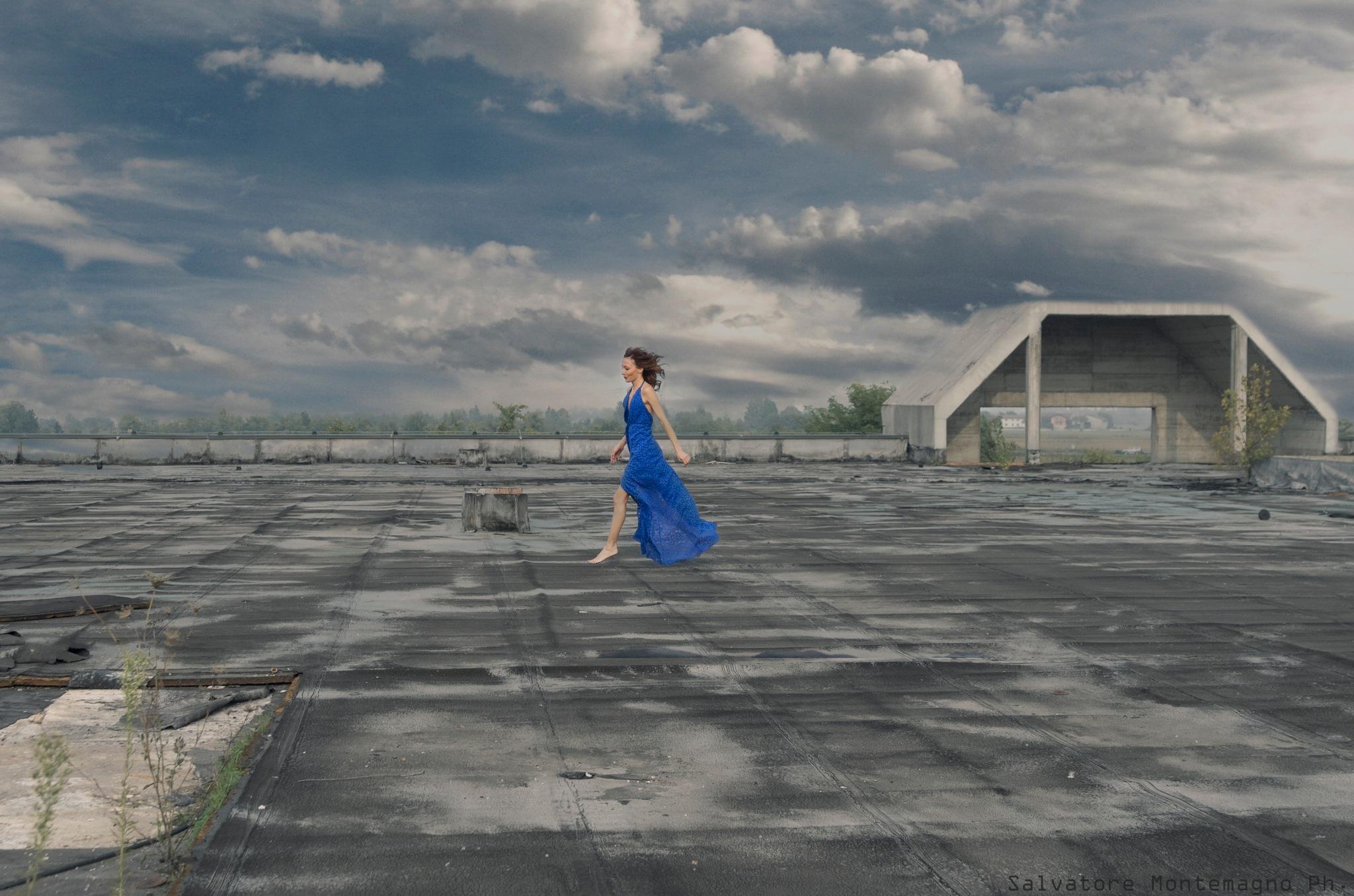 Blu Anita by Salvatore Montemagno