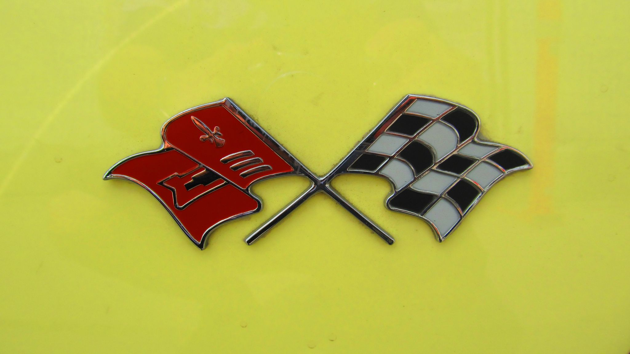 Corvette Emblem by simonp S&R Photography