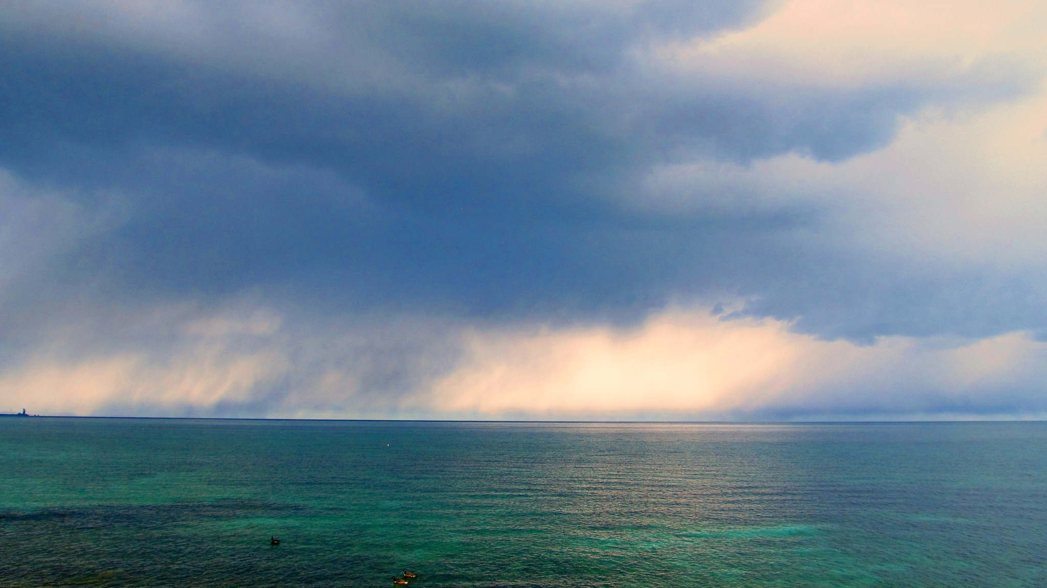 Storm Over the Water  by simonp