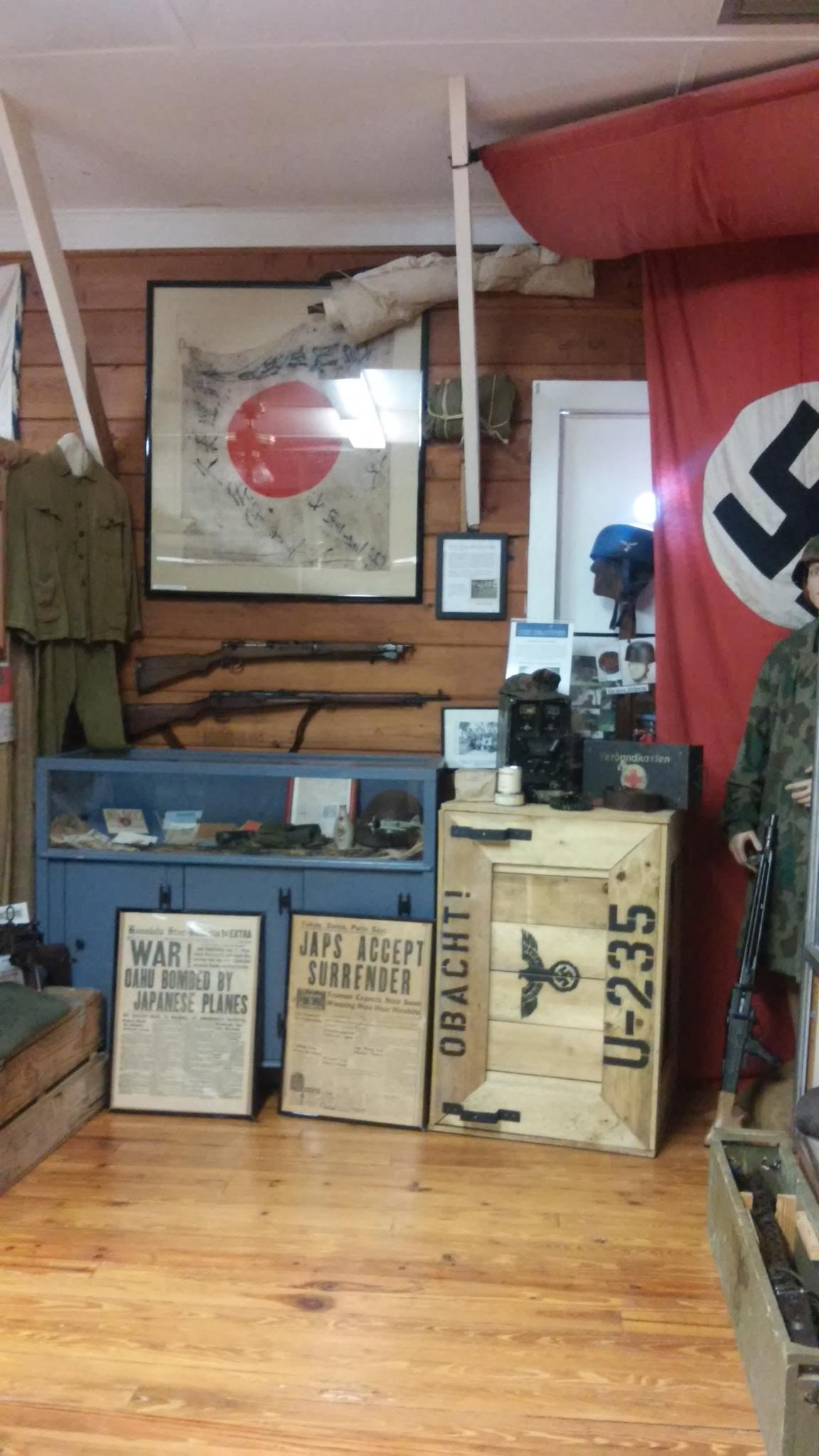 Road to Victory Military Museum WWII.Japanese &.German display by grannypam