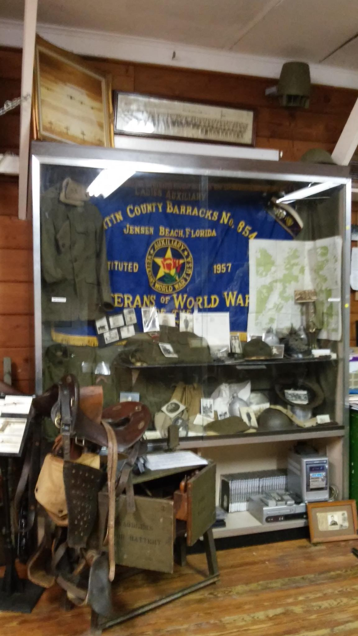 Road to Victory Military Museum WW1 display by grannypam