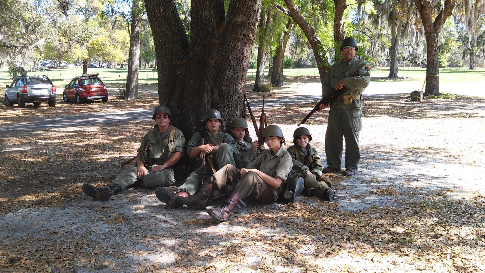 Venture Crew WWII Reenactors by grannypam