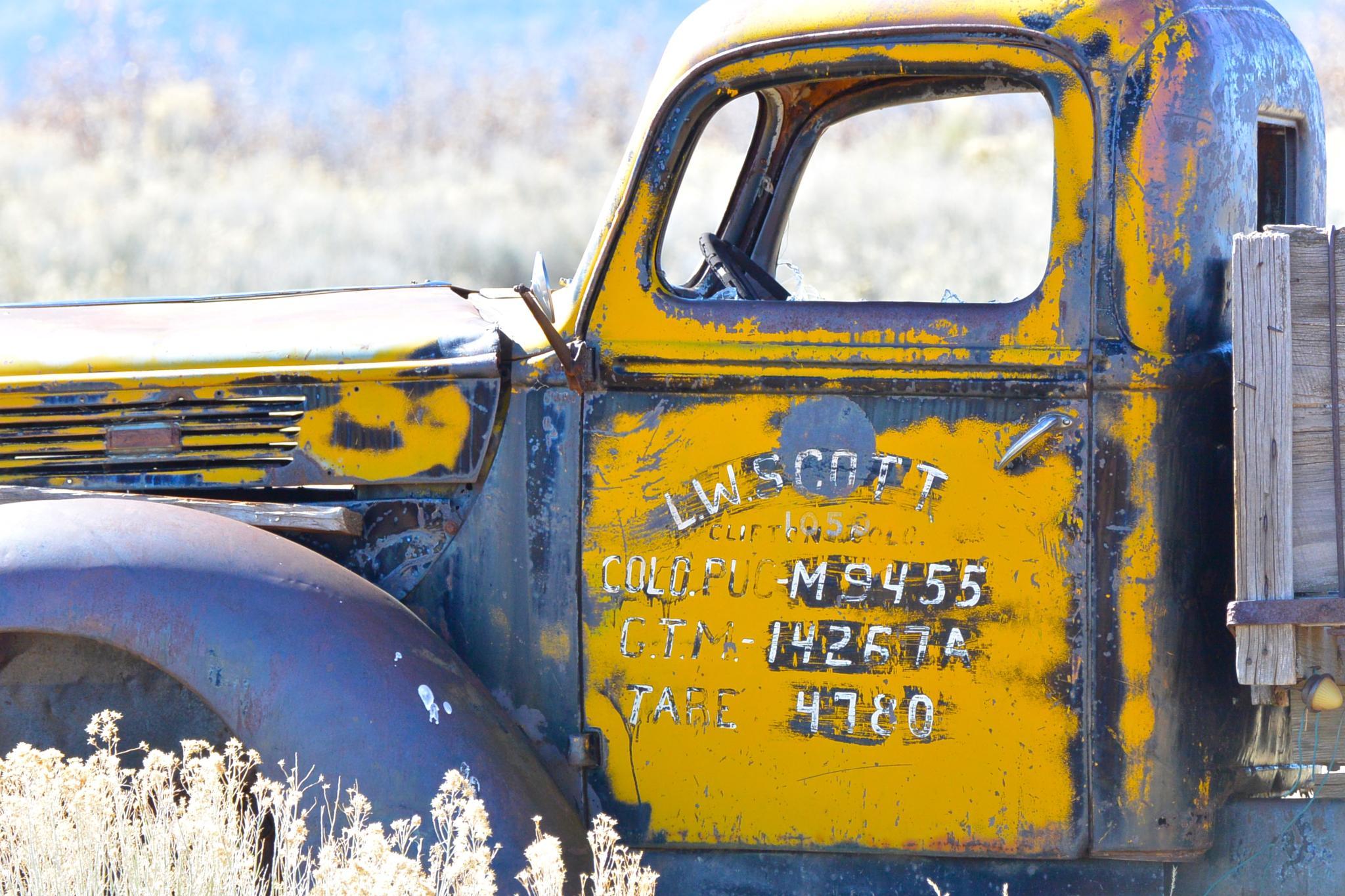 Old Work Truck  by J Burke
