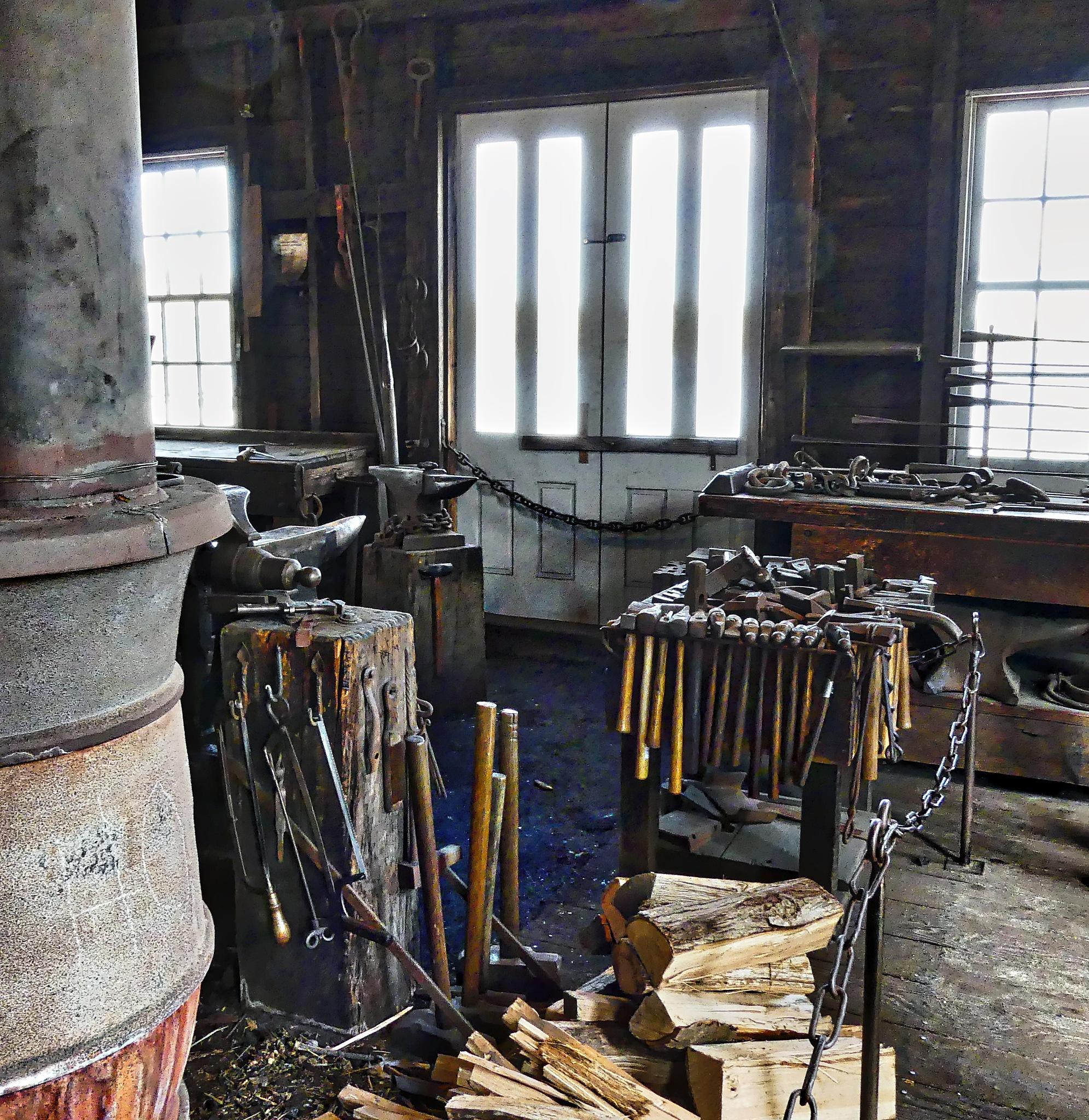 Blacksmith Shop by mgeier
