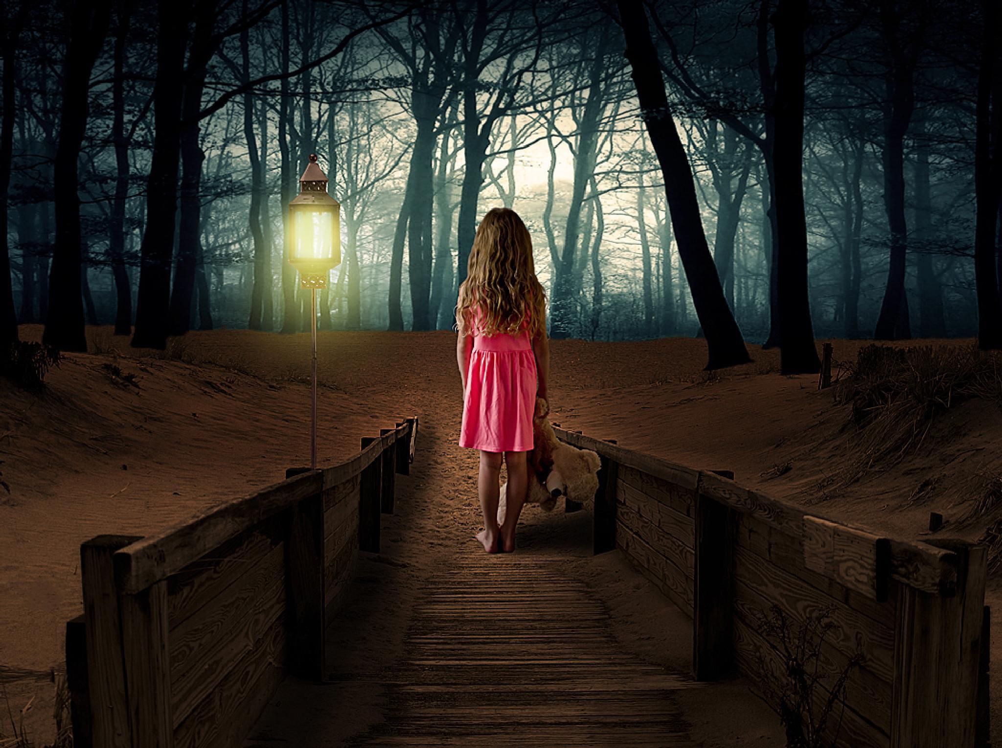 Little girl lost by alda.sykes