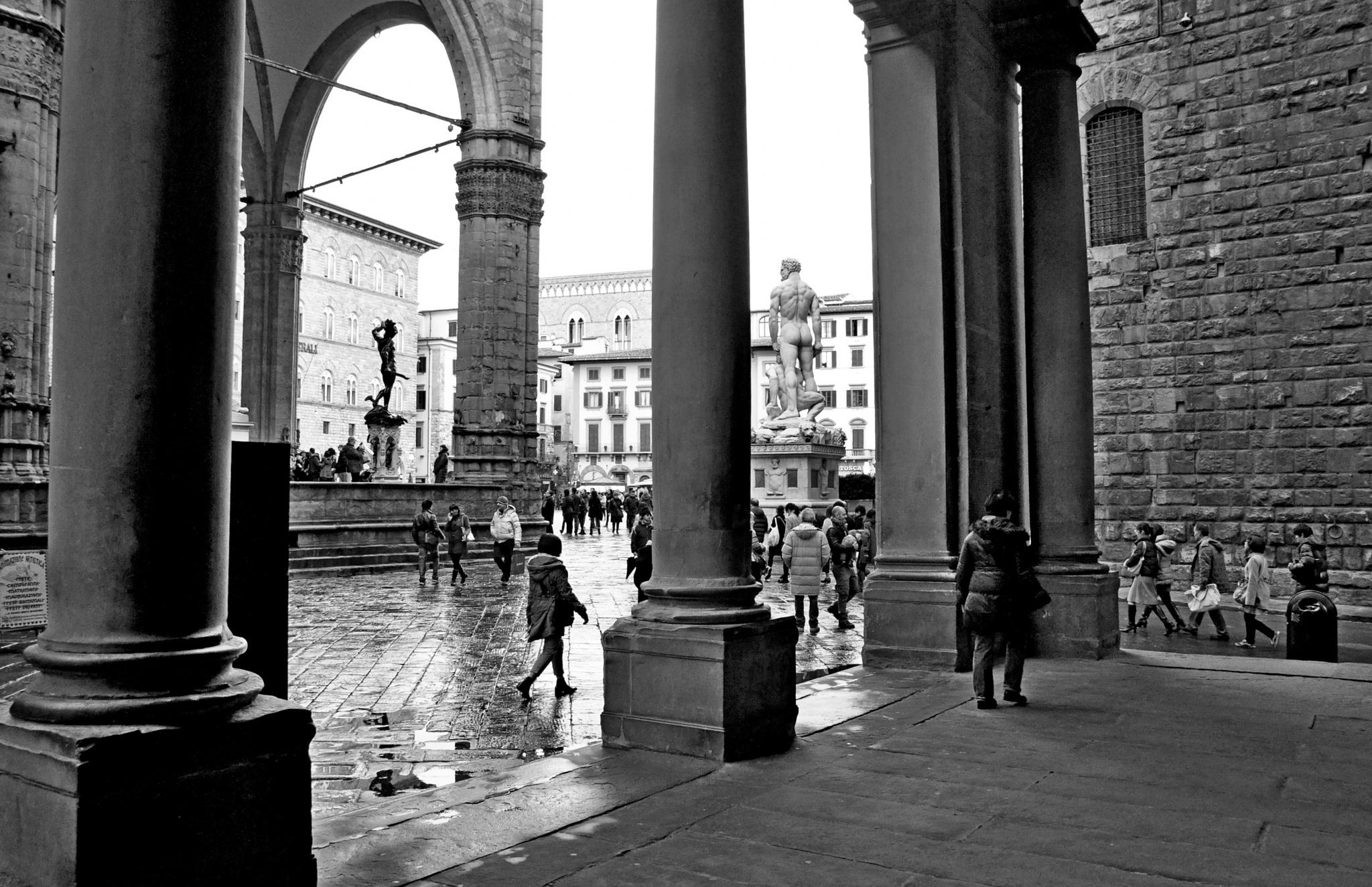 Piazza della Signoria by Moreno Ferri