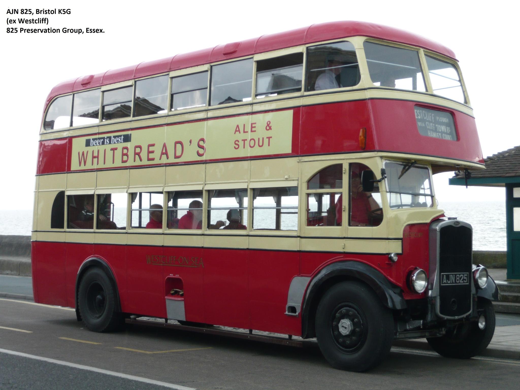 Bristol K5G (AJN825) by Bob Durrant.64