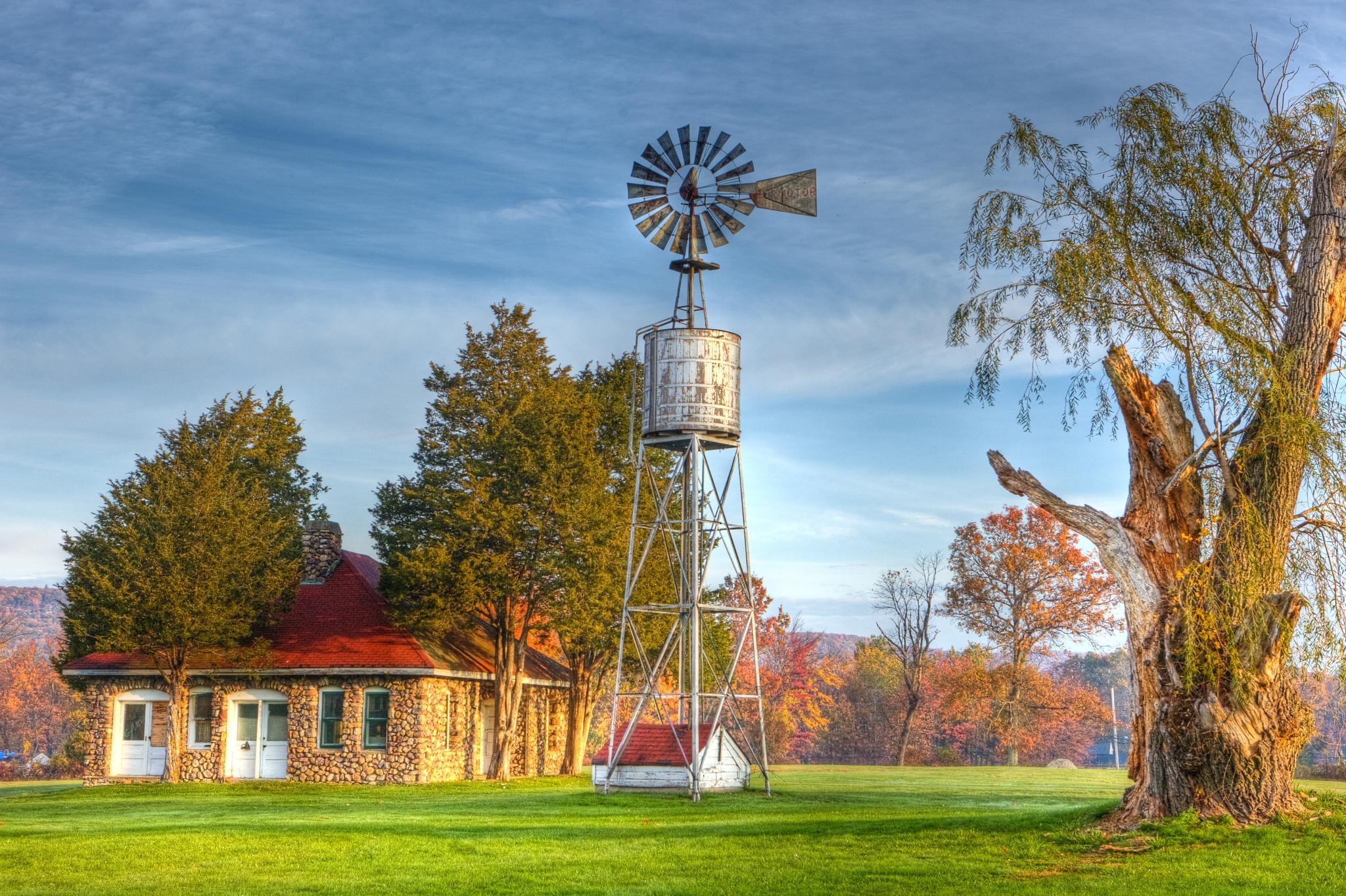 old farm by miroslaw.wierzbicki