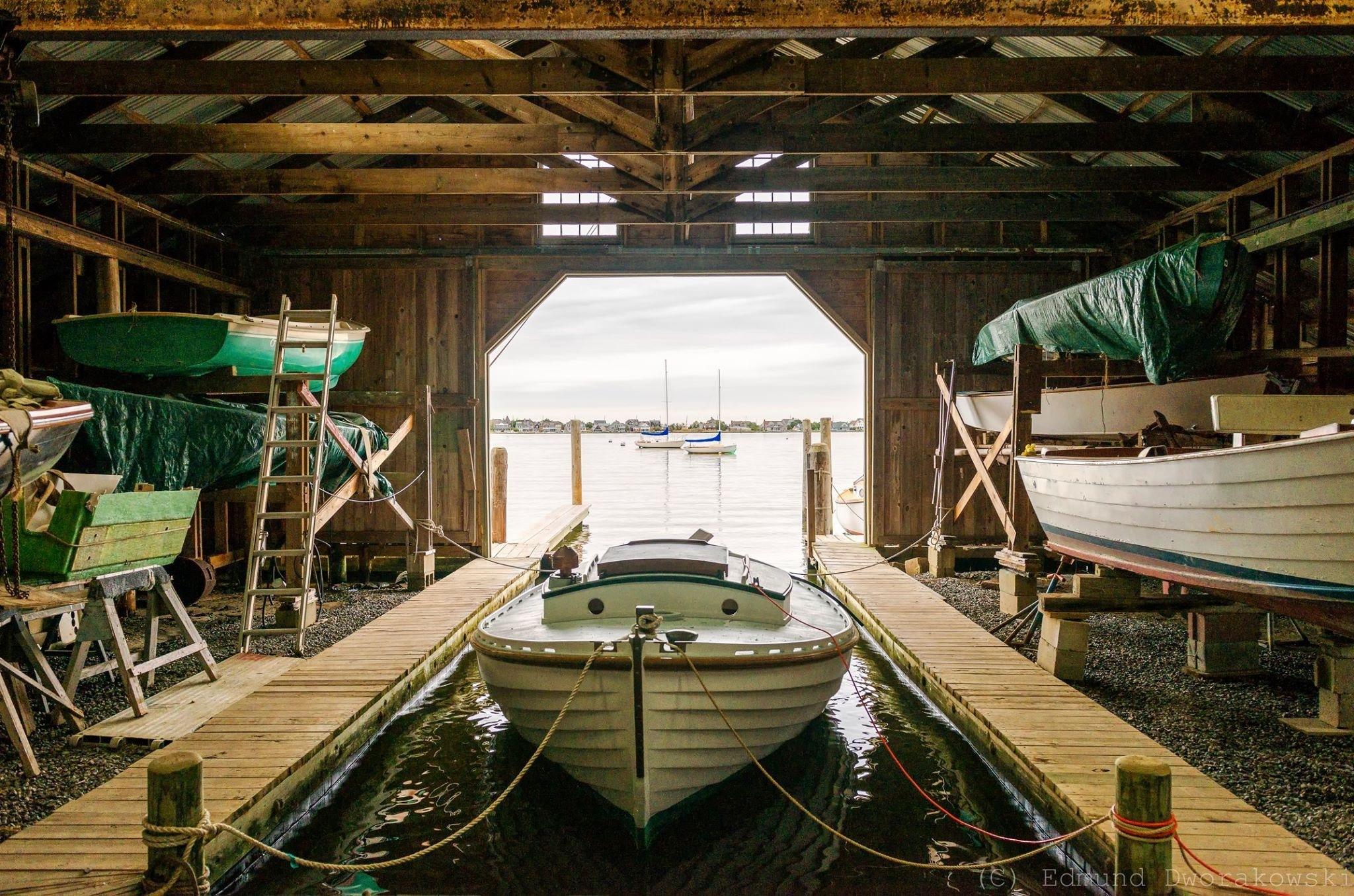Beaton's Boathouse by Edmund Dworakowski