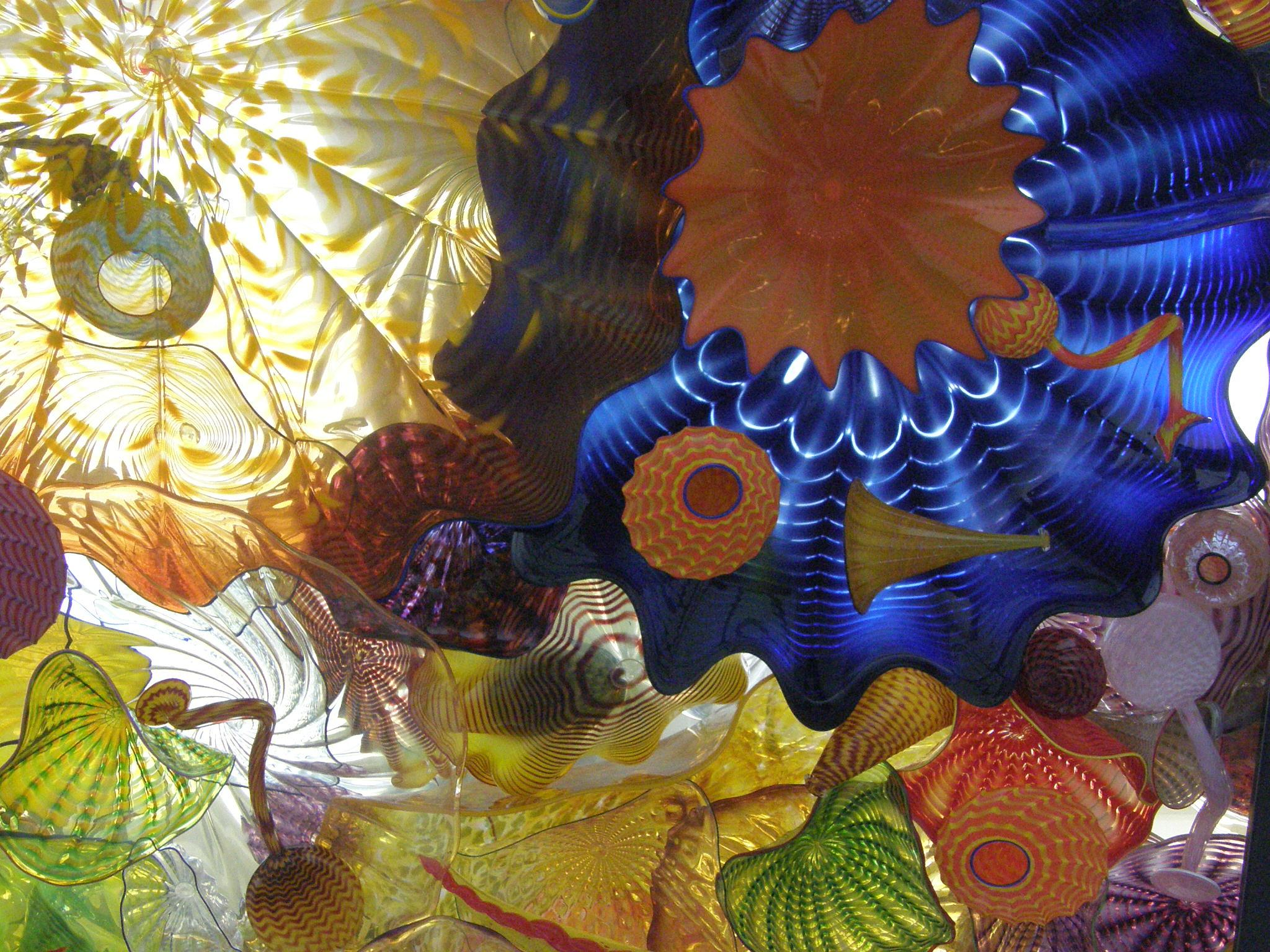 Chihuly Glass in the Overpass -- Ceiling View #6 by ralph.s.carlson