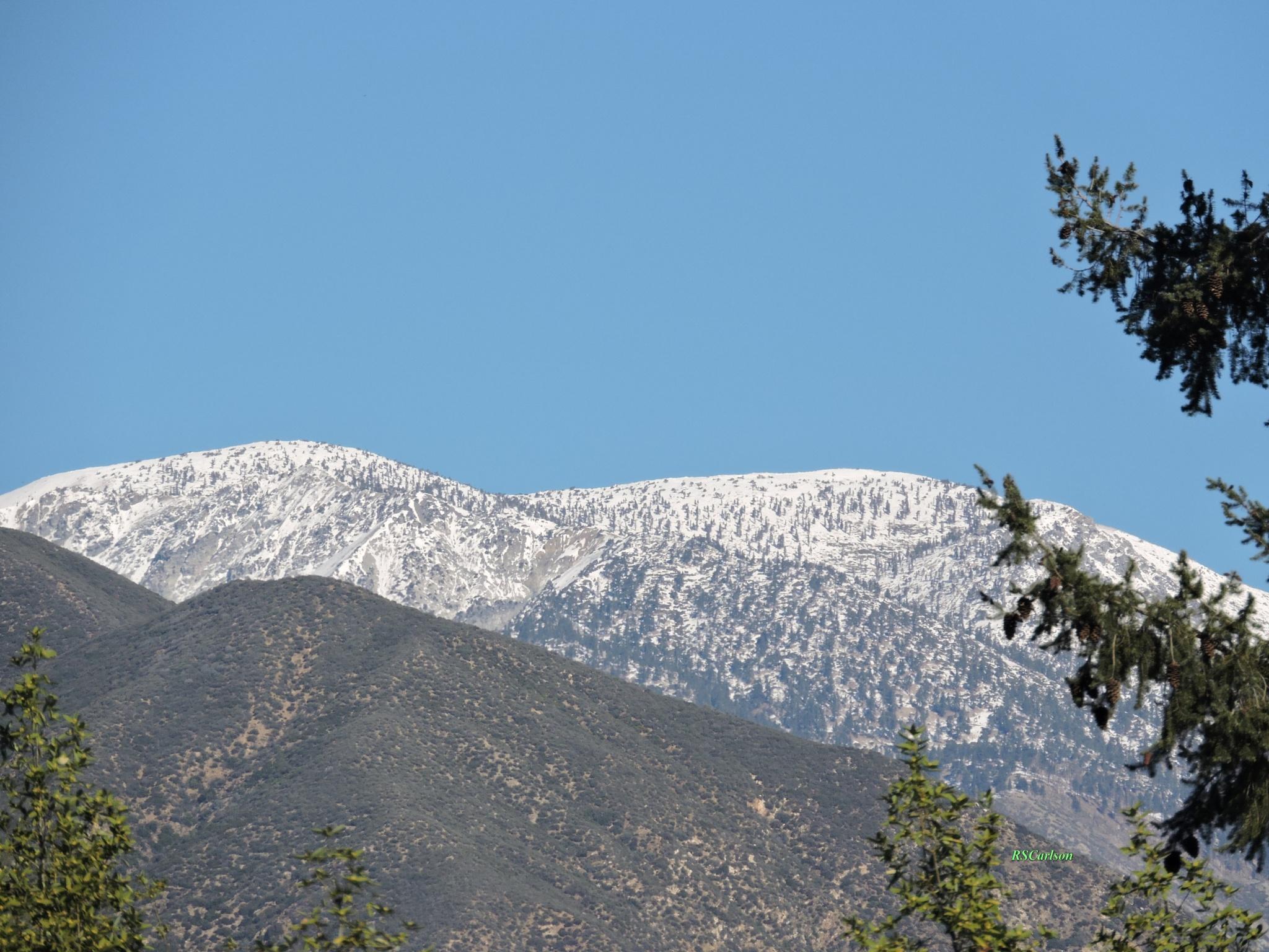 Southern California Snow Tease by ralph.s.carlson