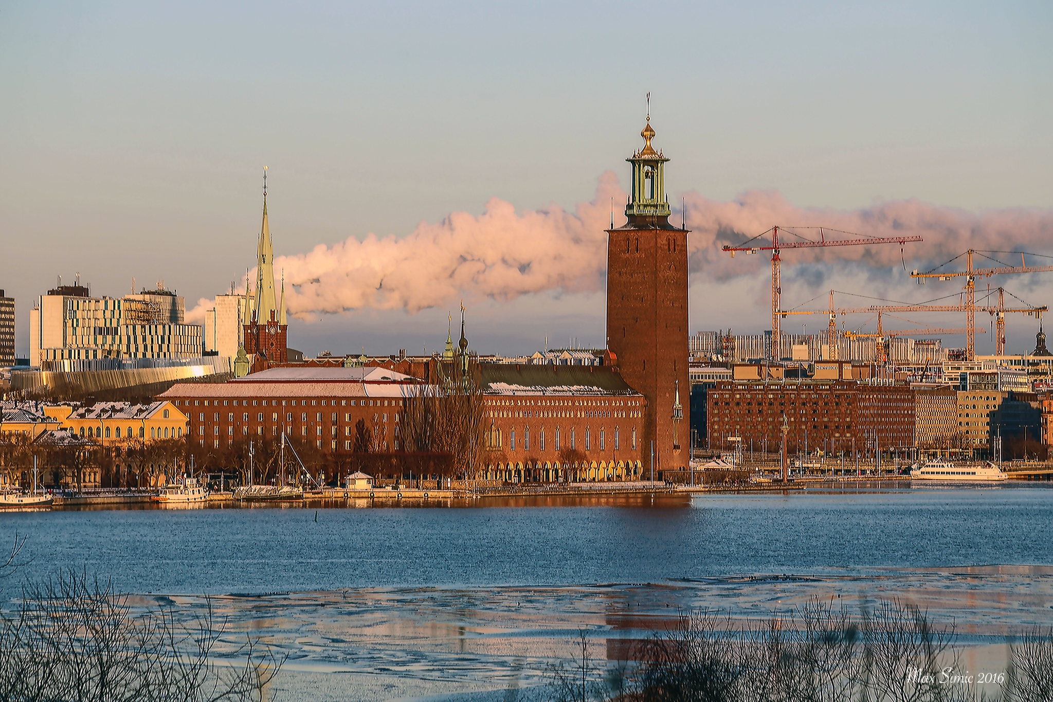 Stockholm a cold day in January by MaxBSimic