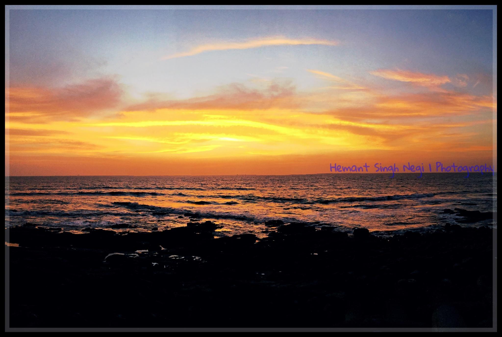 Sunset by HEMANT SINGH NEGI