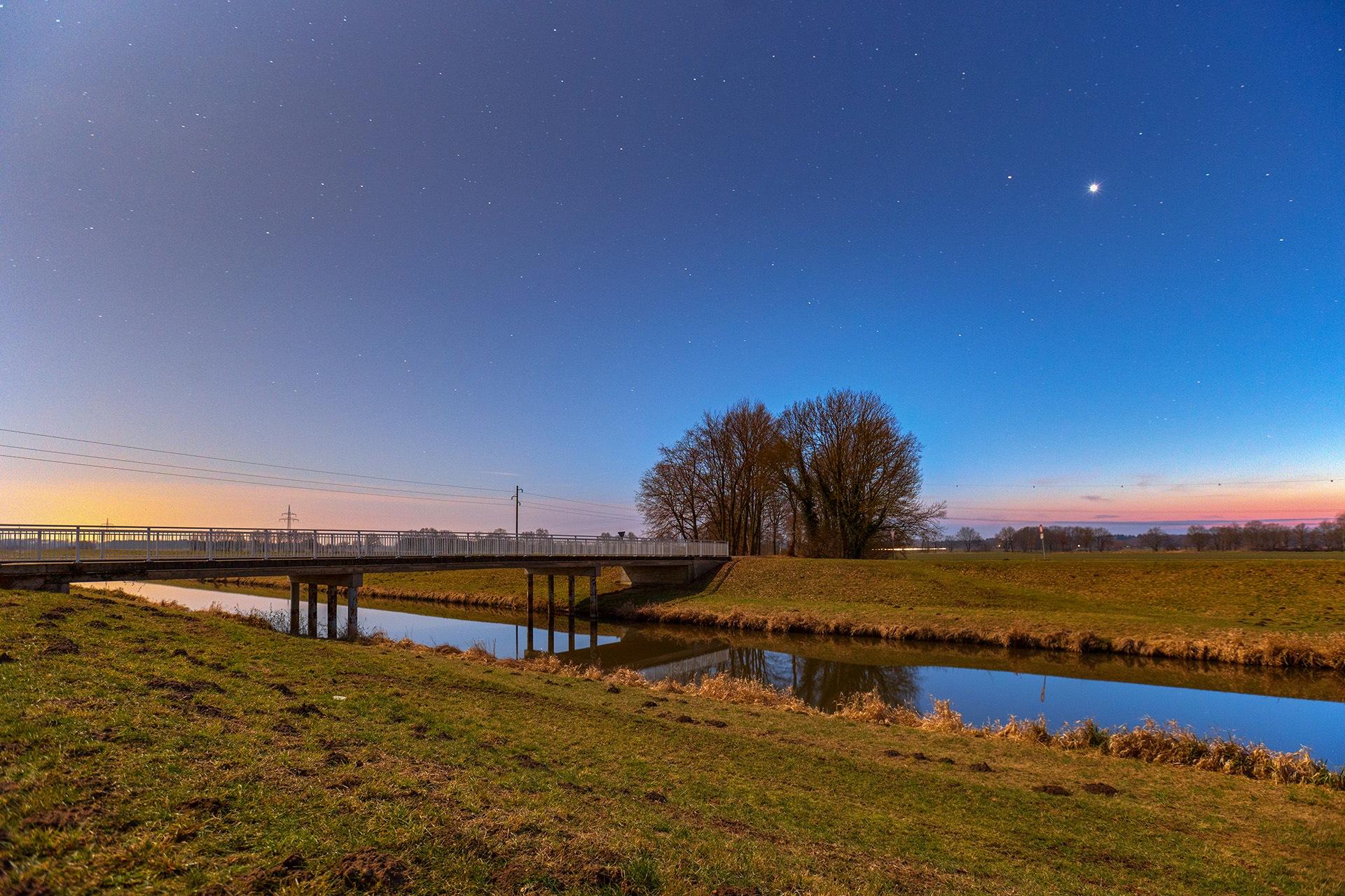 February Sky by Maik Richter Photography