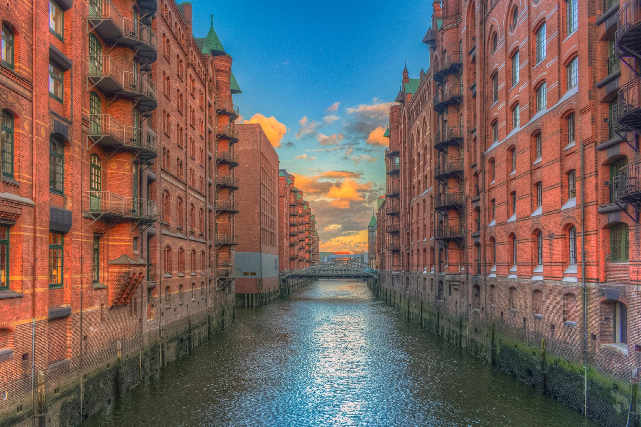 Hamburg - Speicherstadt by Maik Richter Photography