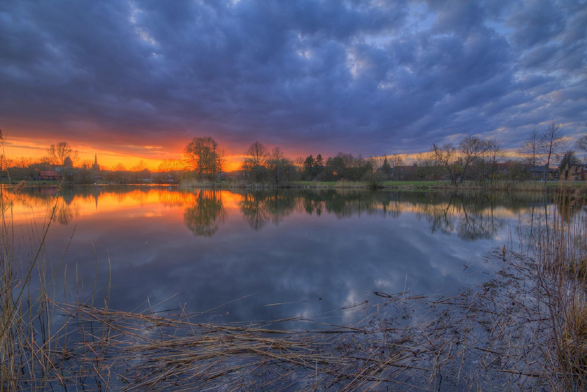 Today's sunset in Dannenberg! by Maik Richter Photography