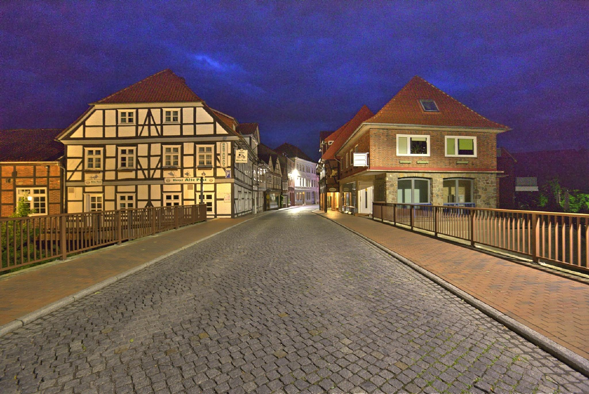 Dannenberg at night (freehand shot with ISO 20.000) by Maik Richter Photography